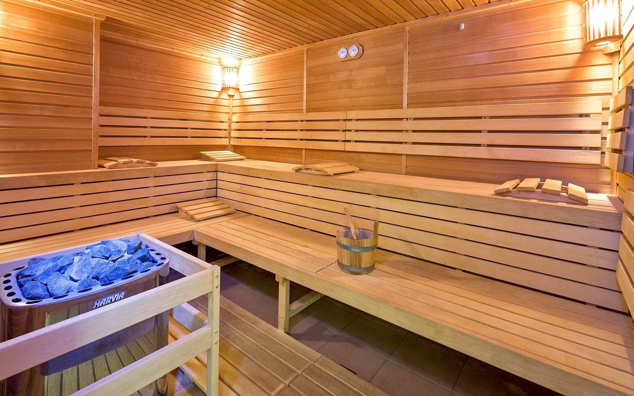 Lázně Flora Olomouc zahrnují také saunu