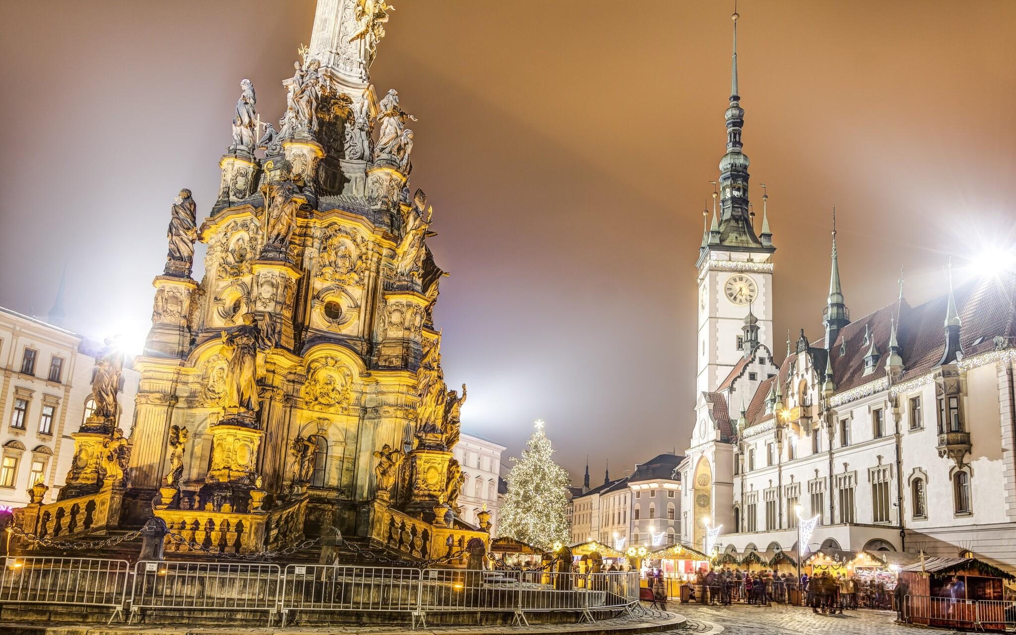 Vianočné trhy, Hotel Senimo, Olomouc