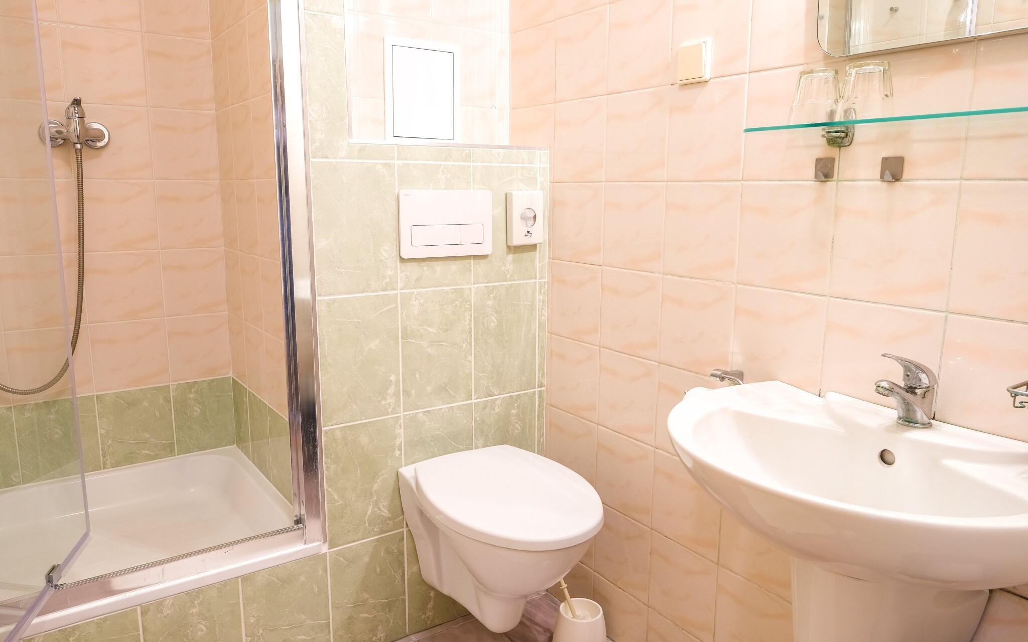 Na každej izbe nájdete vlastnú kúpeľňu