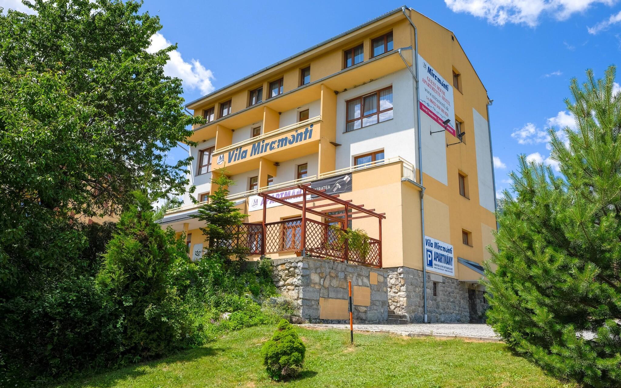 Miramonti Resort, Vysoké Tatry, Horný Smokovec