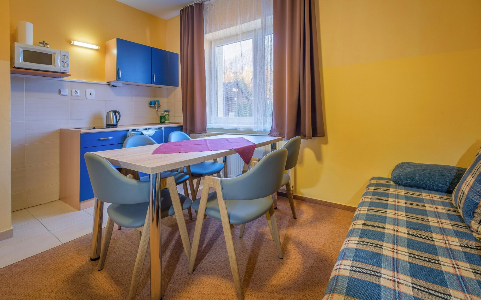 Apartmán s výhledem na hory - až pro 5 osob, kuchyňka