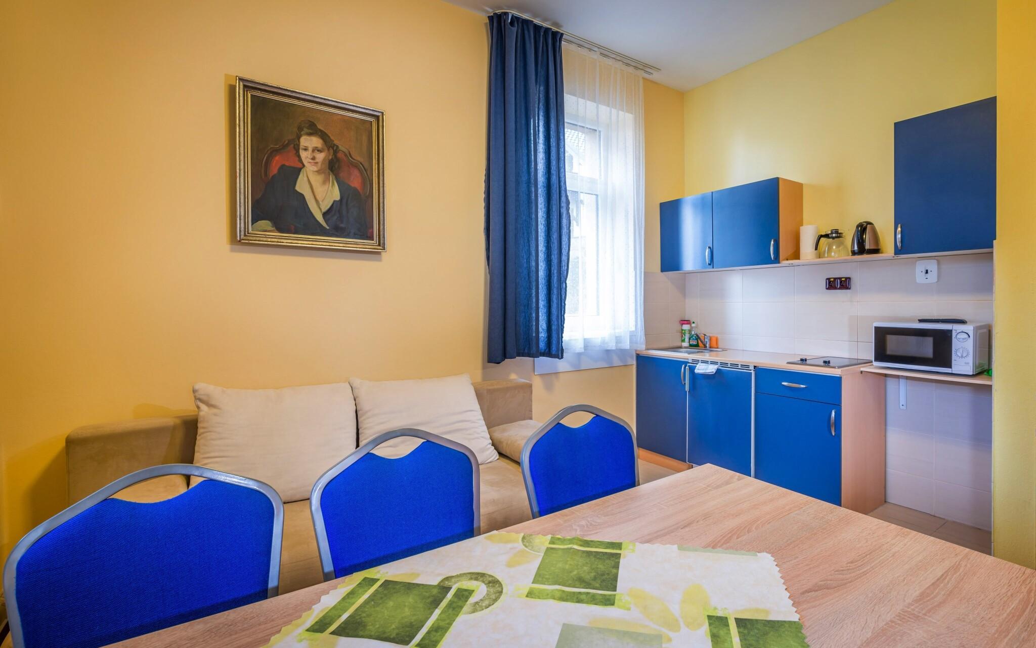 Bezbariérový apartmán až pro 5 osob, kuchyňka