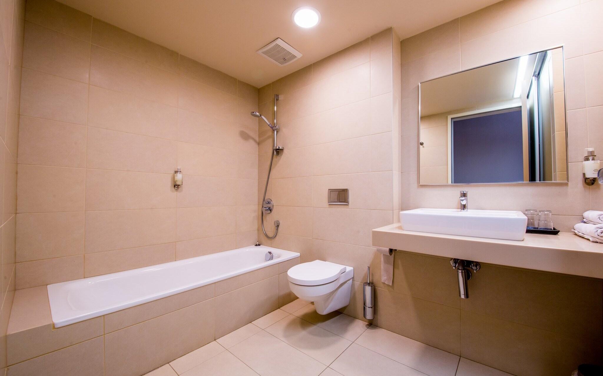 Každá izba má samozrejme vlastnú kúpeľňu