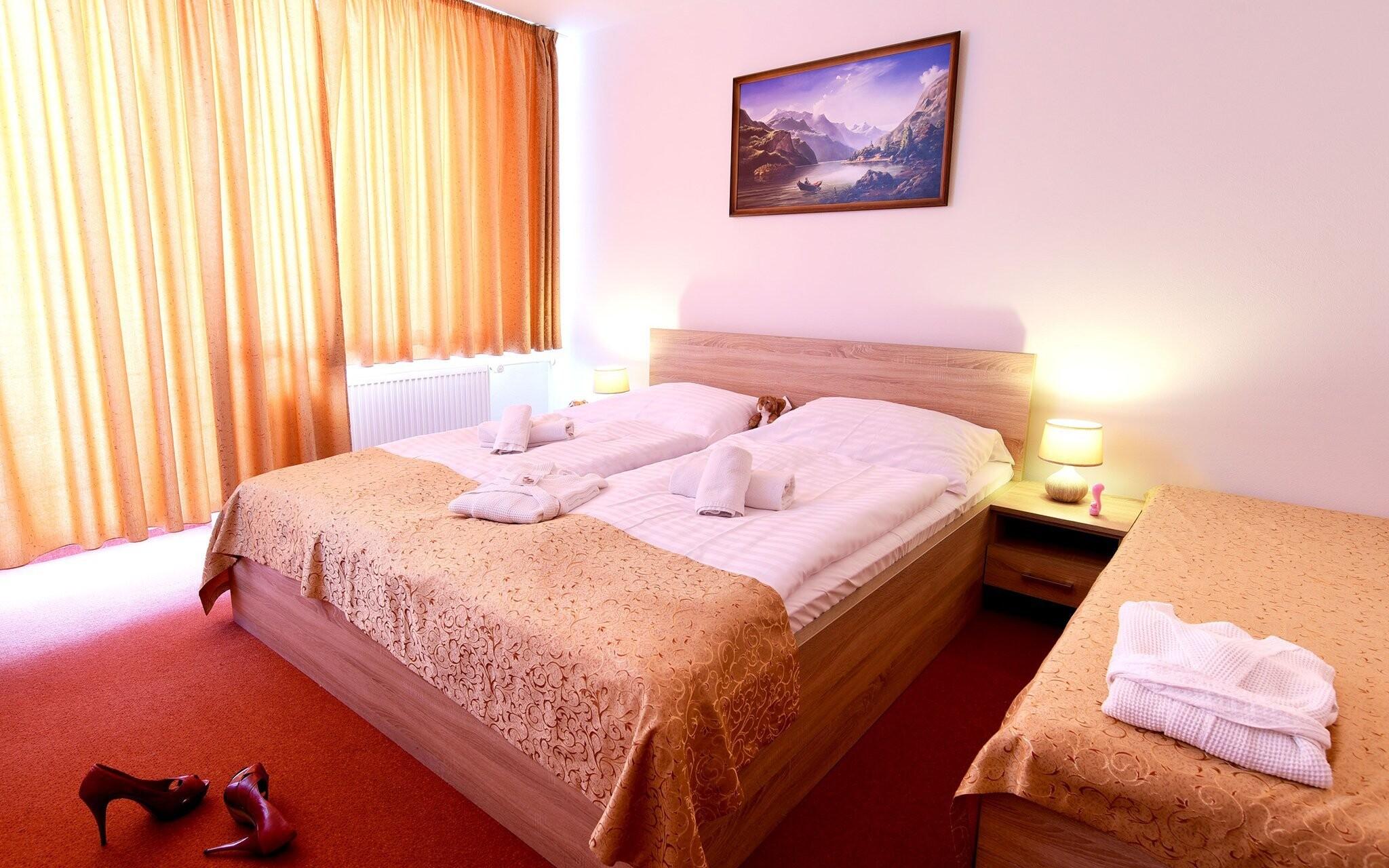 Komfortní pokoje v Hotelu Lesana *** Vysoké Tatry