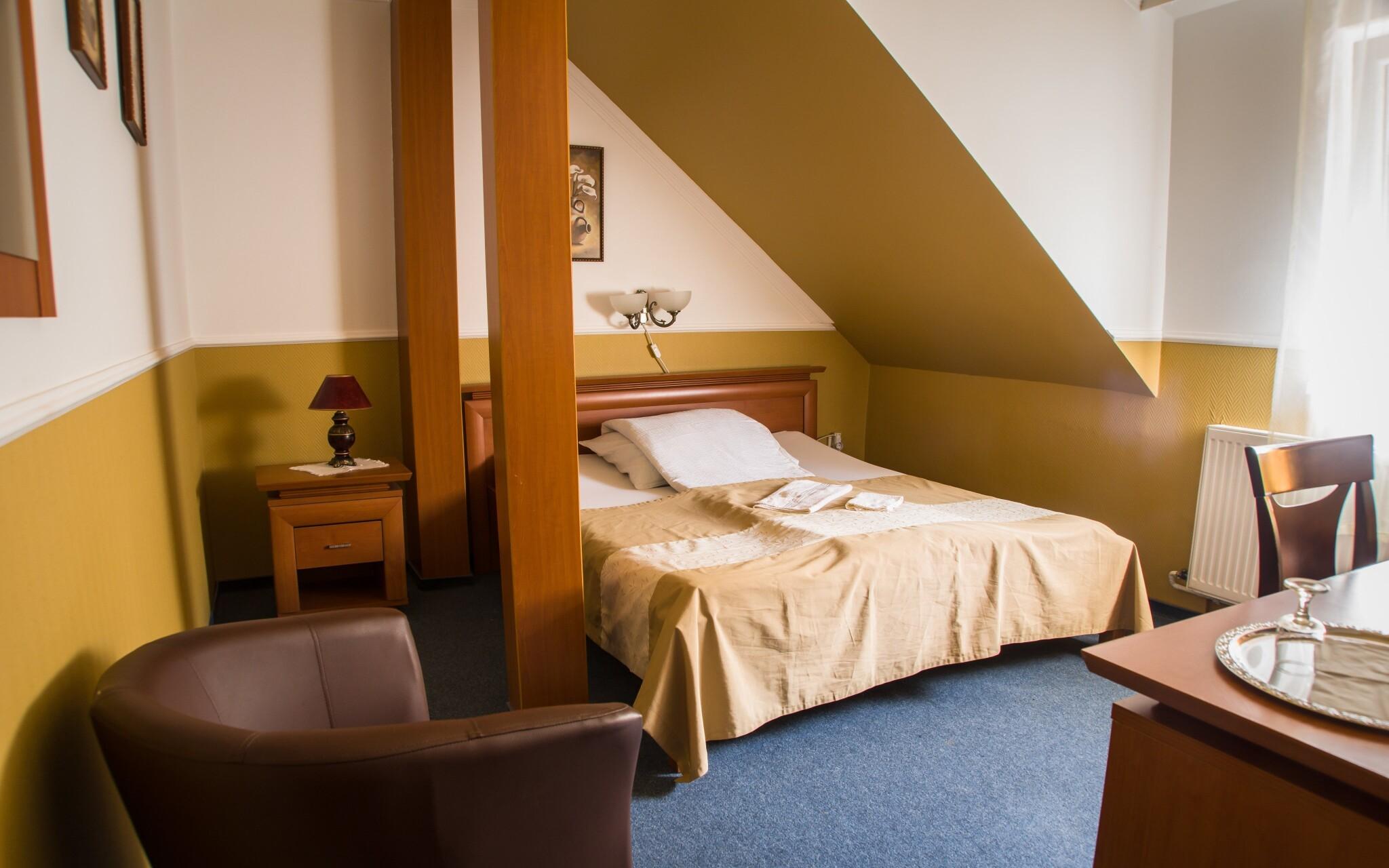 Útulné pokoje nabízejí veškerý komfort