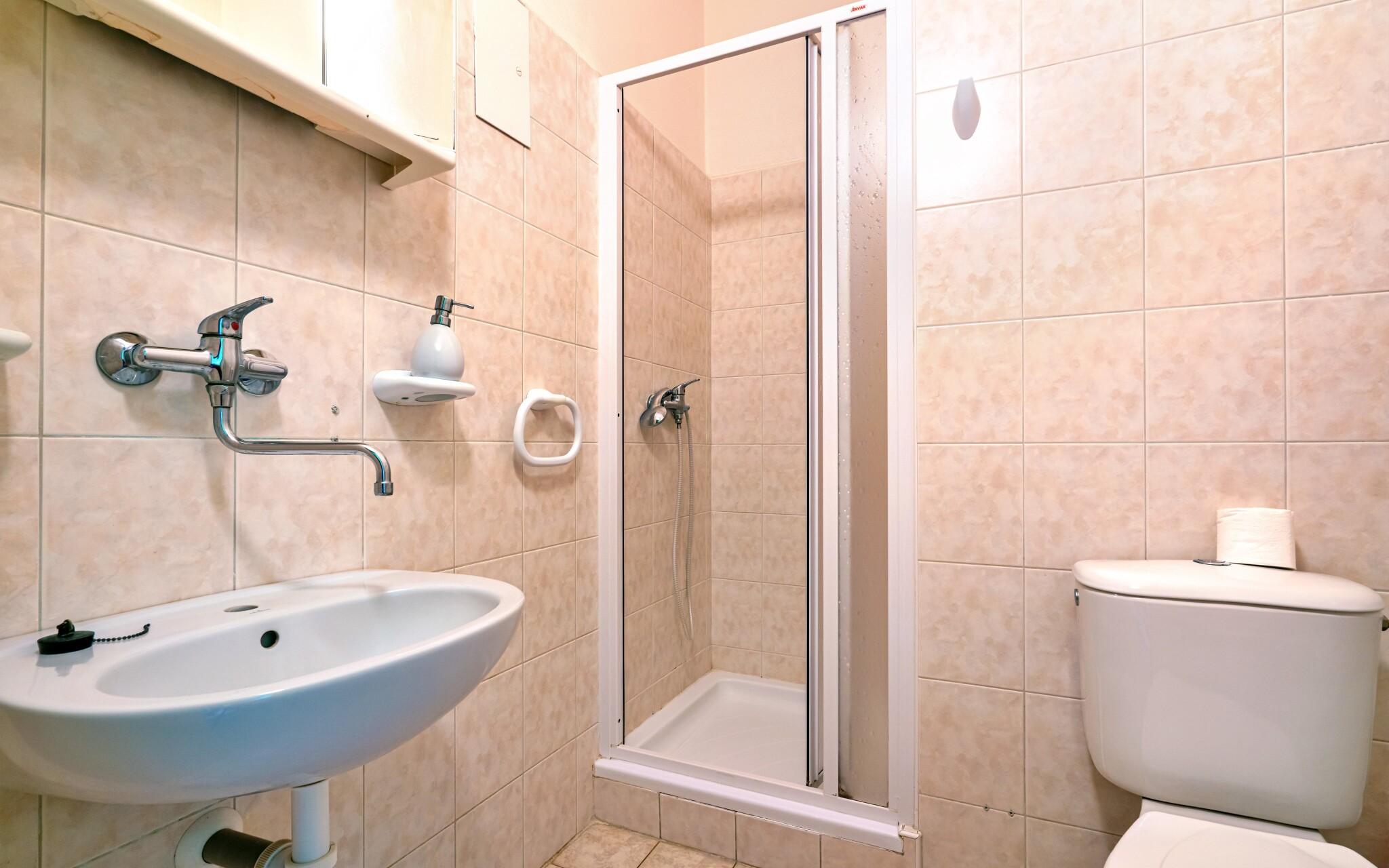 K pokoji náleží i vlastní koupelna