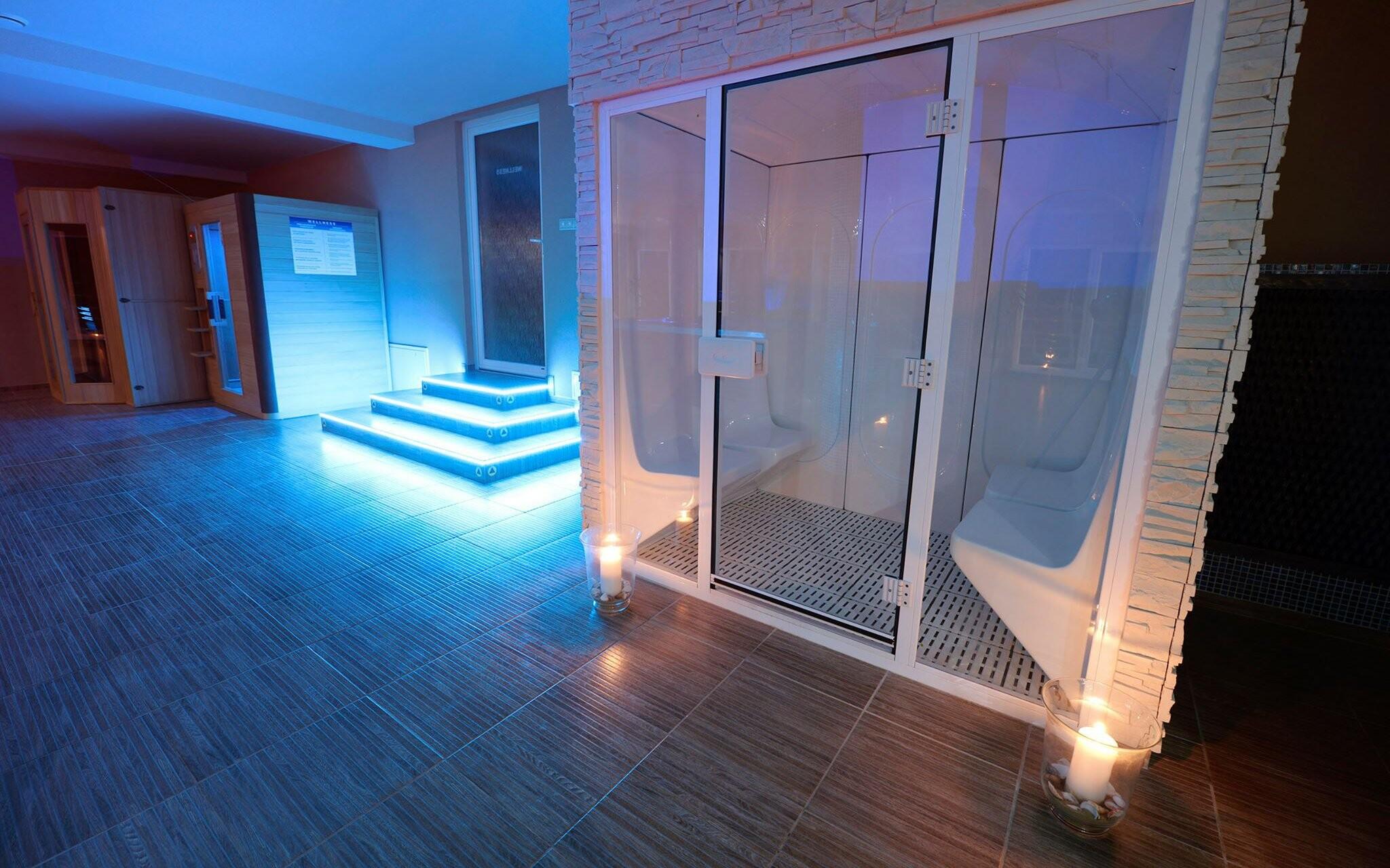 Fínska, parná a infra sauna vo Wellness Penzióne Maxim ***