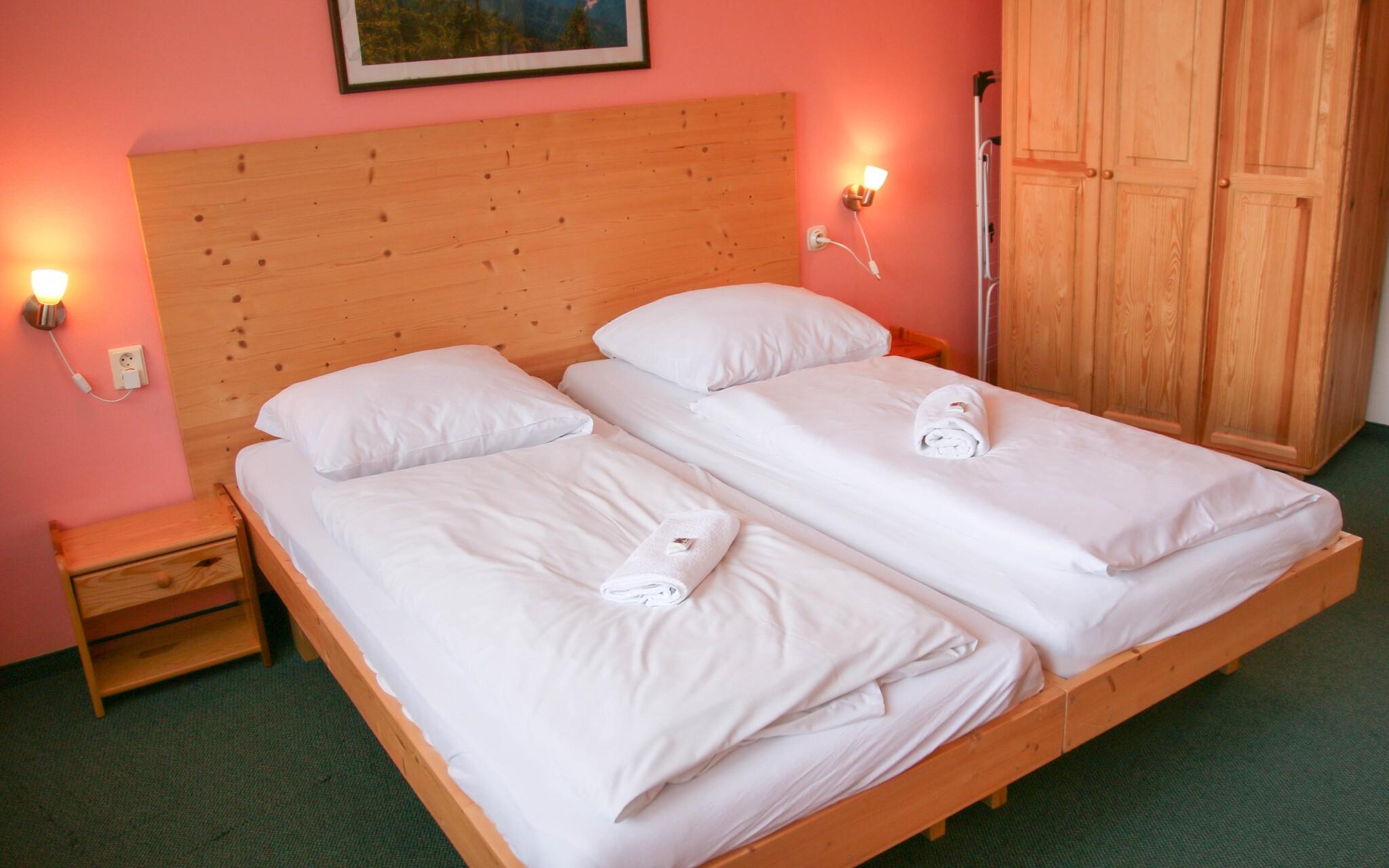 Pohodlné pokoje v Hotelu SKI, Nízké Tatry