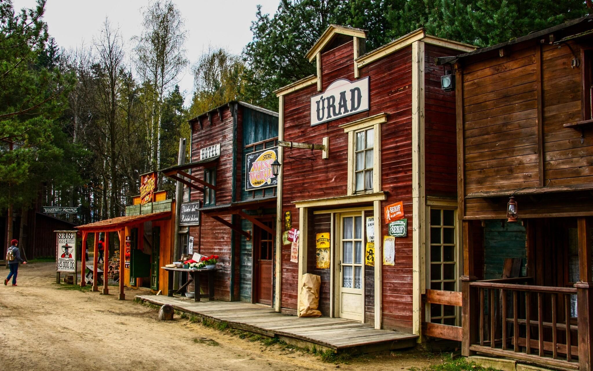 V Boskovicích navštivte westernové městečko