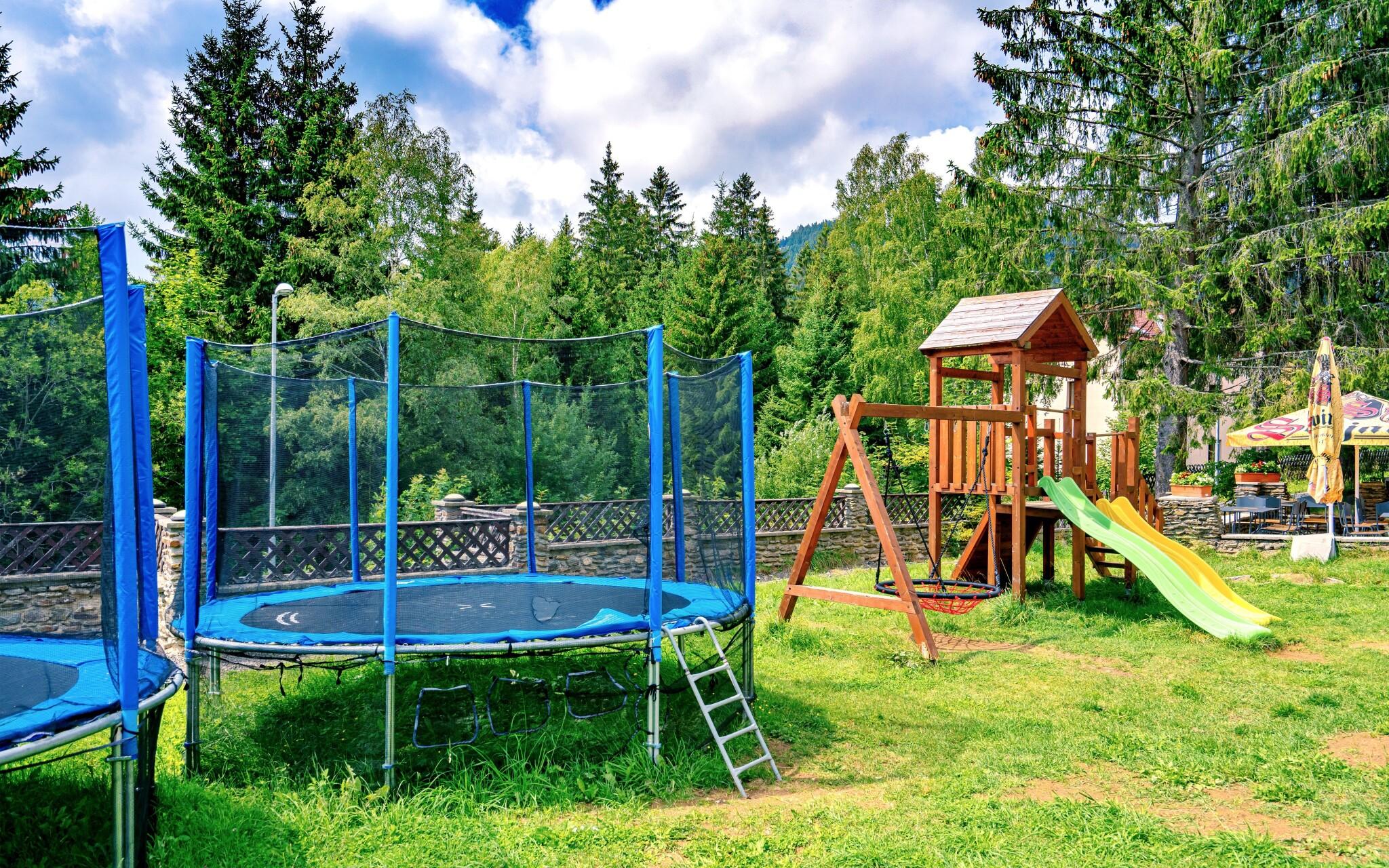 Dětské hřiště, Hotel Stella, Šumava