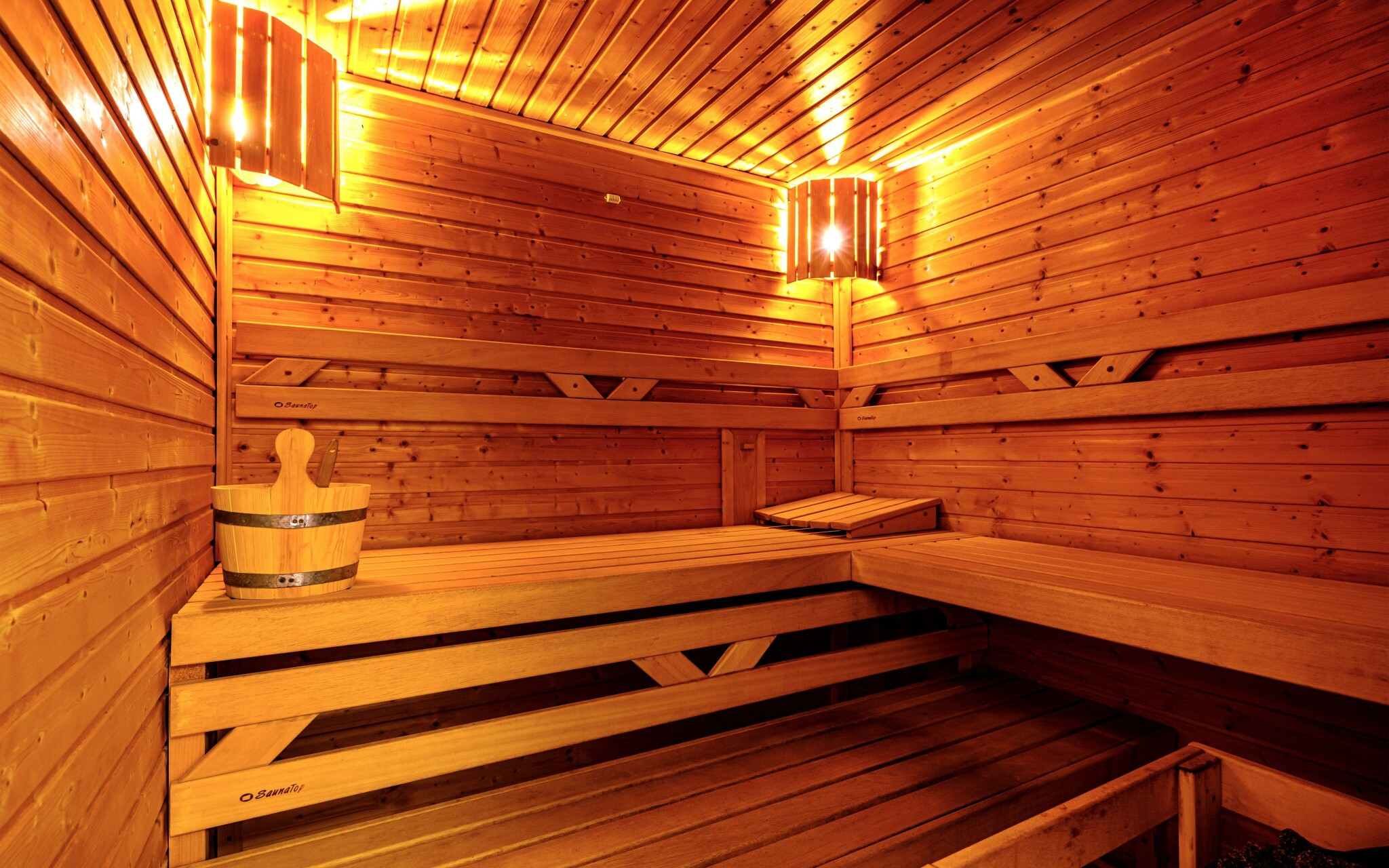 Odpočiňte si v sauně, Hotel Stella, Šumava
