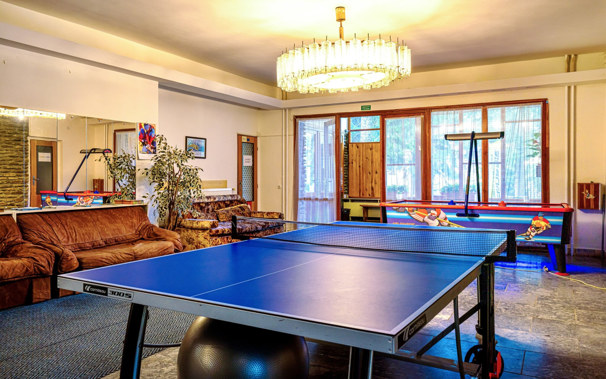 Zahrajte si stolní tenis, Hotel Stella, Šumava