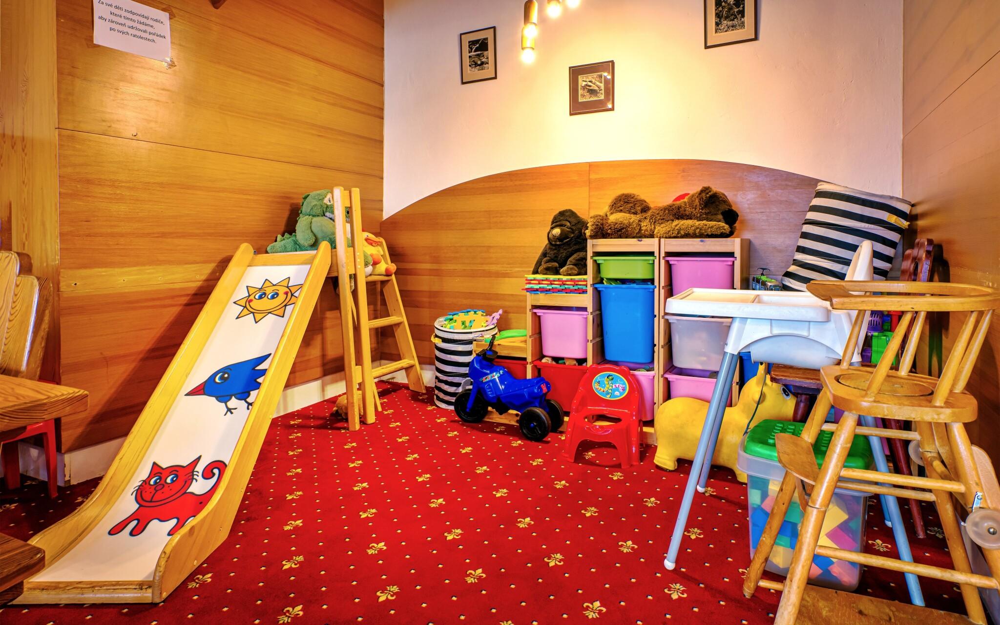 Dětský koutek, Hotel Stella, Šumava