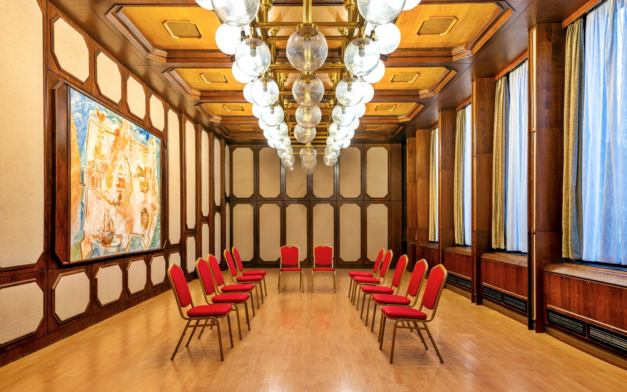 Interiéry hotela sú naozaj luxusné