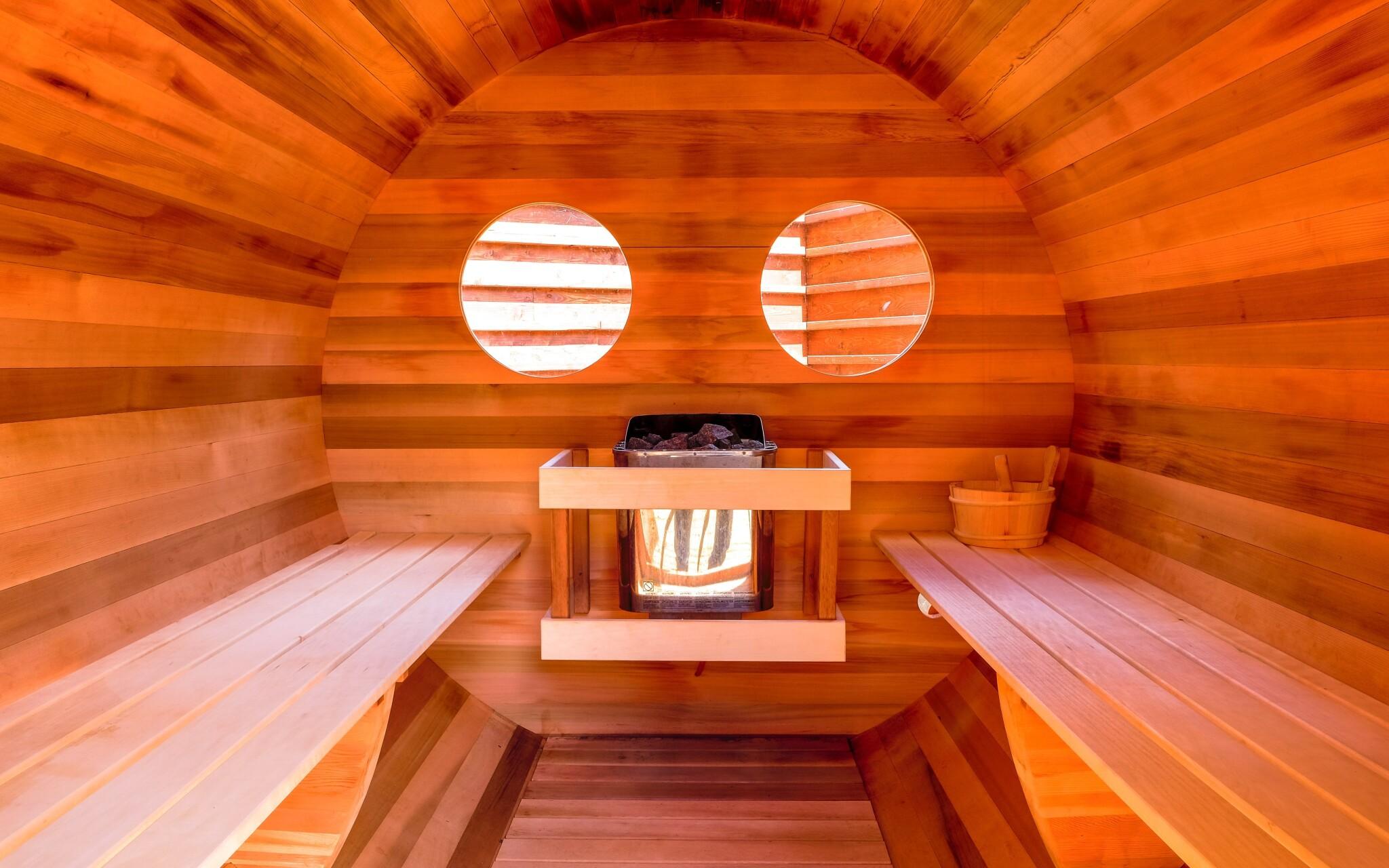 Venkovní sauna ve wellness Hotelu Lesana *** Vysoké Tatry