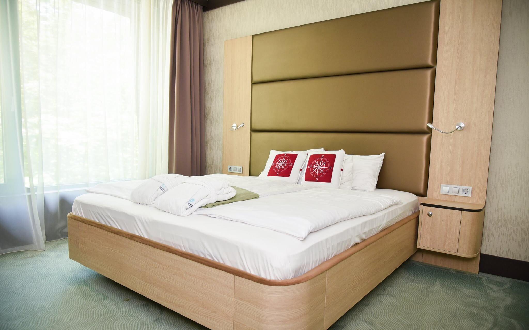 V komfortných izbách nájdete všetko potrebné