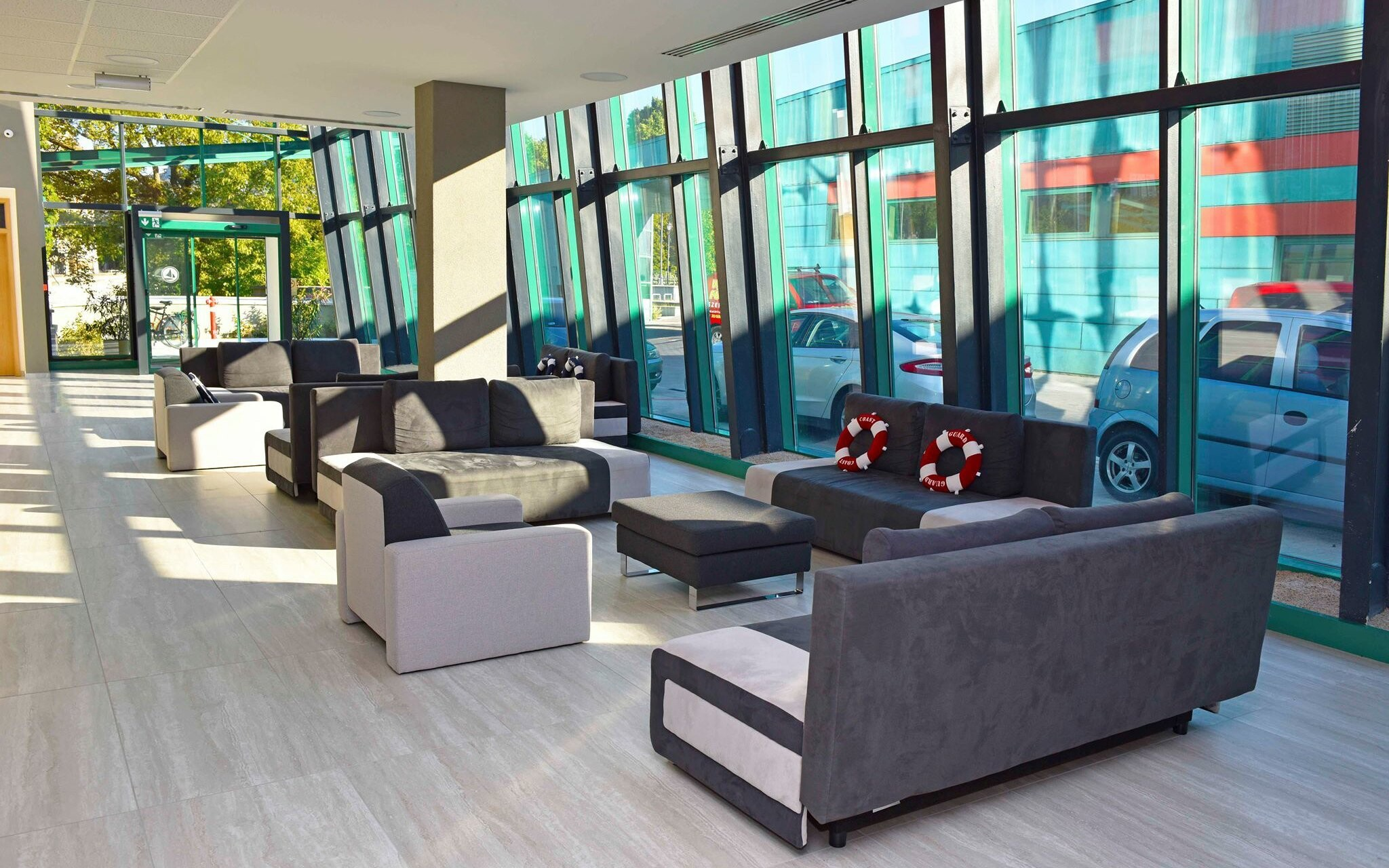 Luxusné interiéry hotela