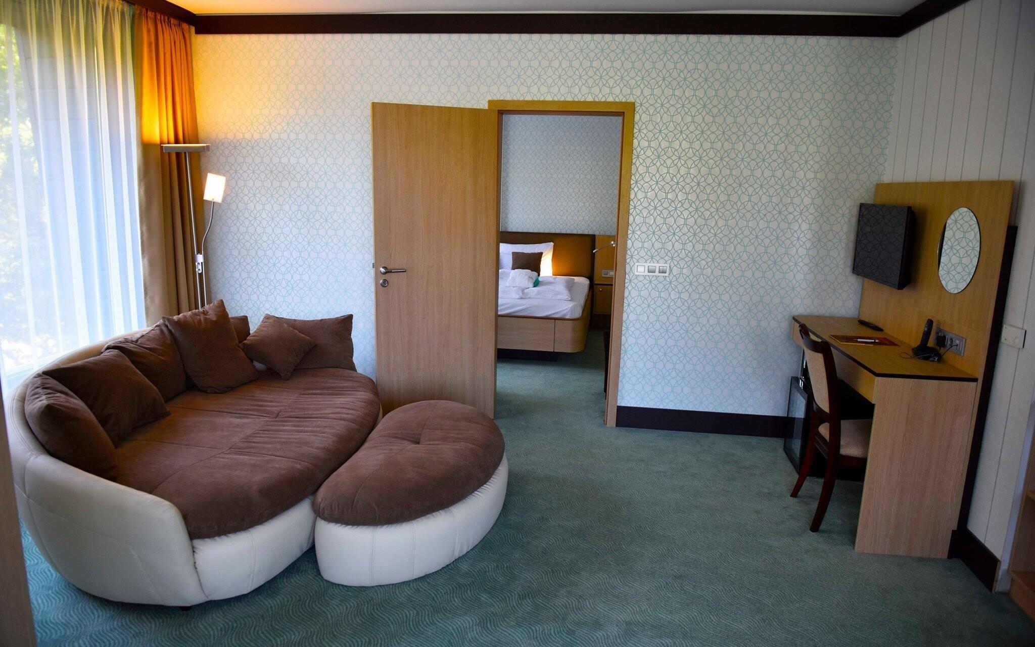 V komfortních pokojích najdete vše potřebné
