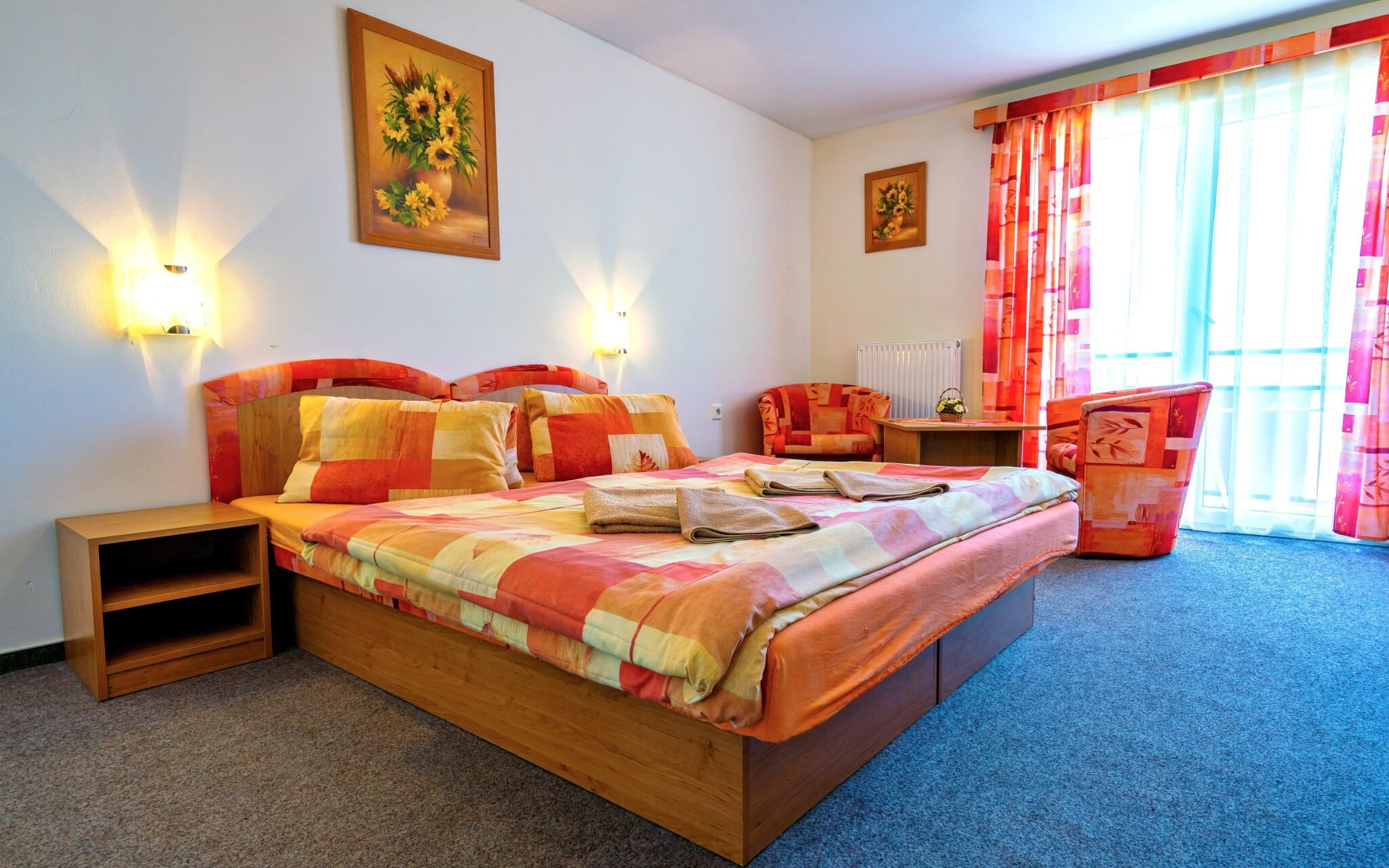 Ubytovaní budete v pohodlných izbách, Penzión Quatro IV.