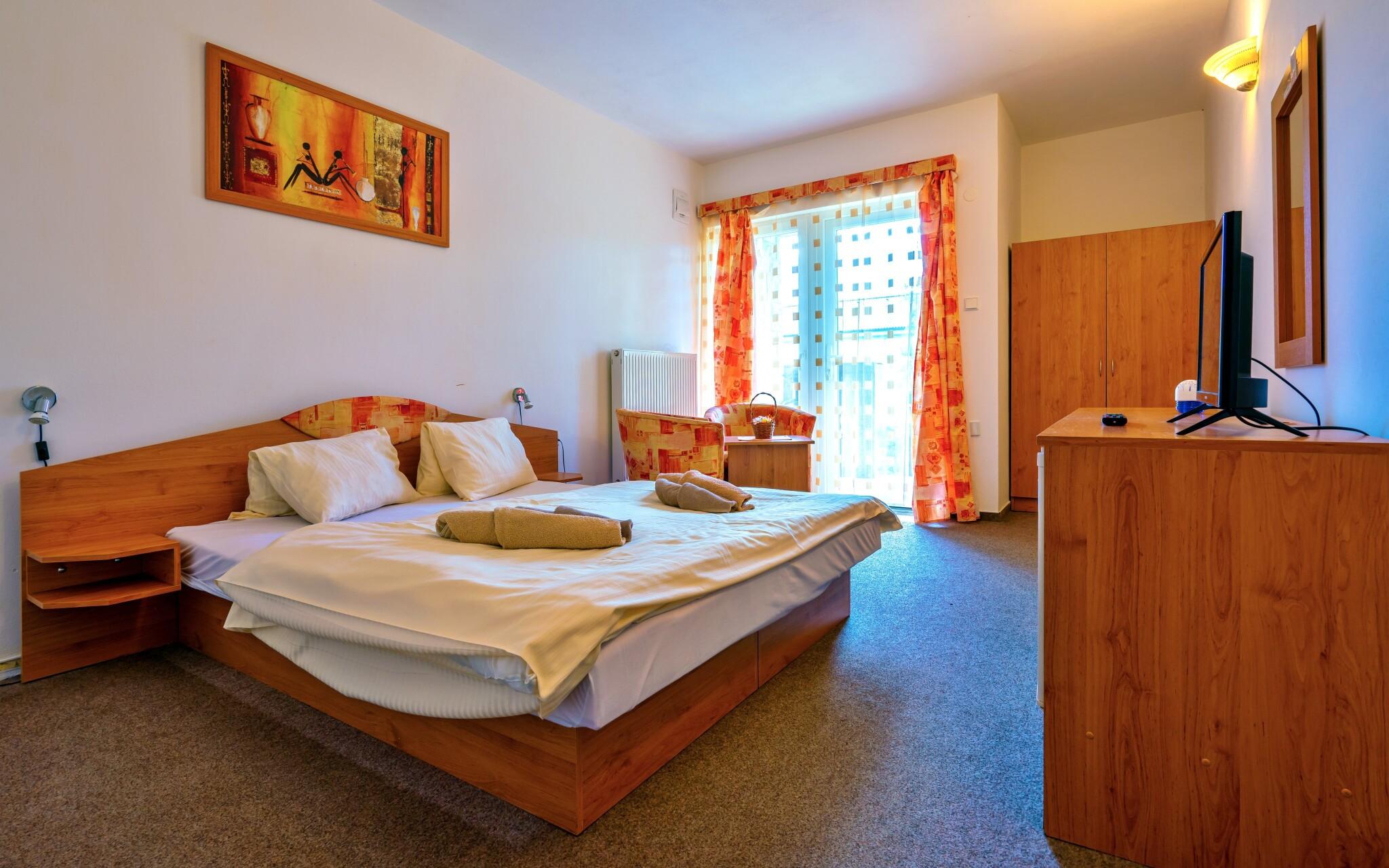 Ubytovaní budete v pohodlných izbách, Quatro II. a III.