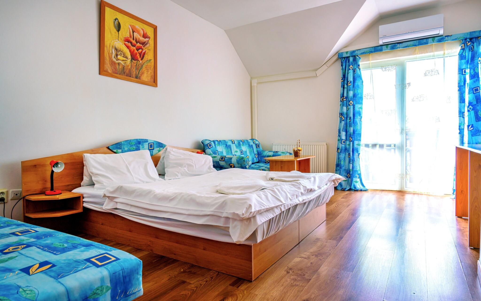 Ubytovaní budete v pohodlných izbách