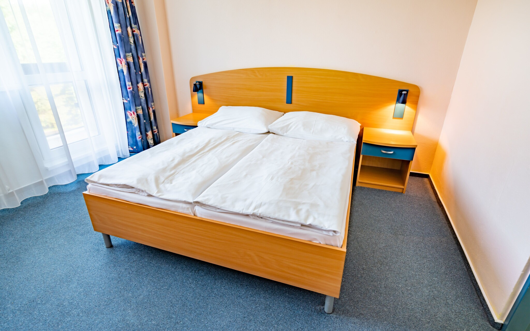 Útulné izby, Hotel Harmonie ***, kúpele Luhačovice