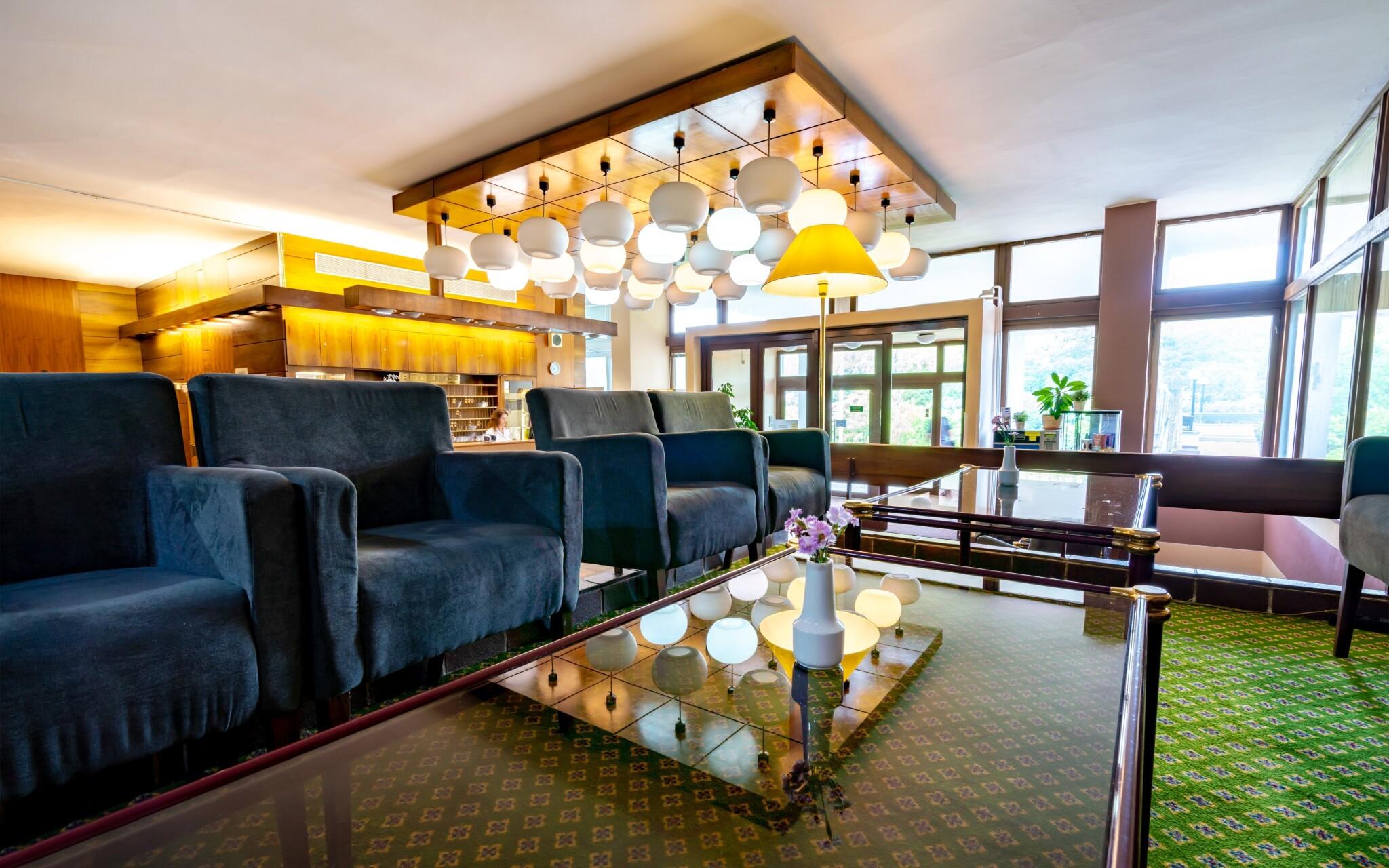 Hotelová recepcia, lobby, Hotel Harmonie, Luhačovice