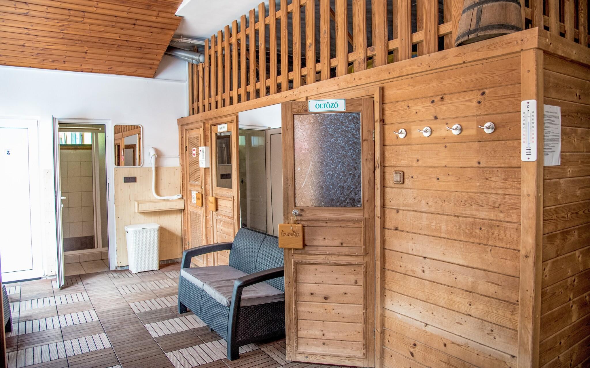 K dispozícii je aj sauna