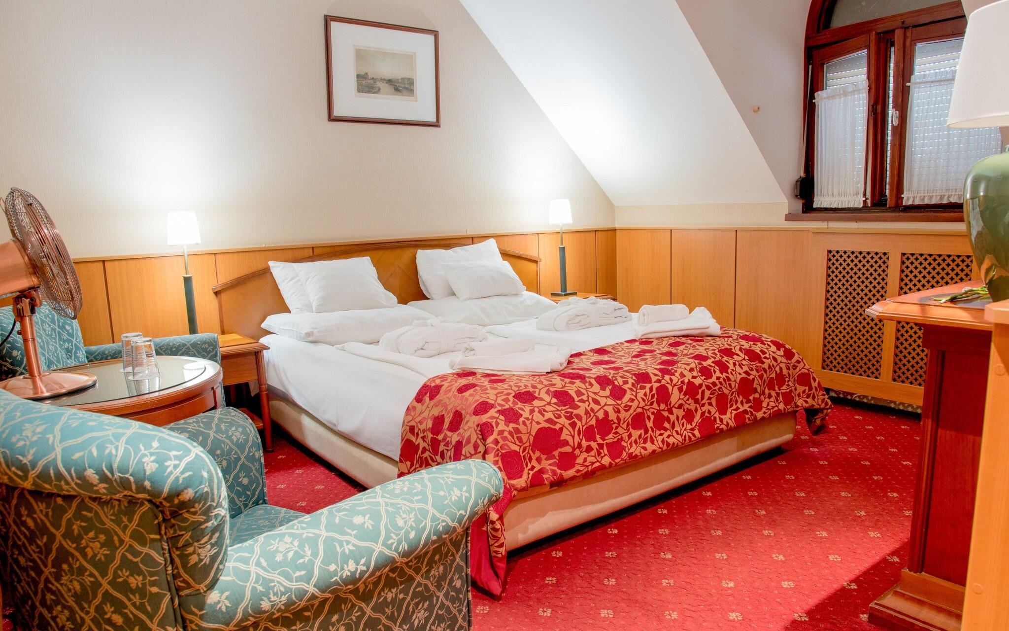 Čaká vás ubytovanie v izbách Standard