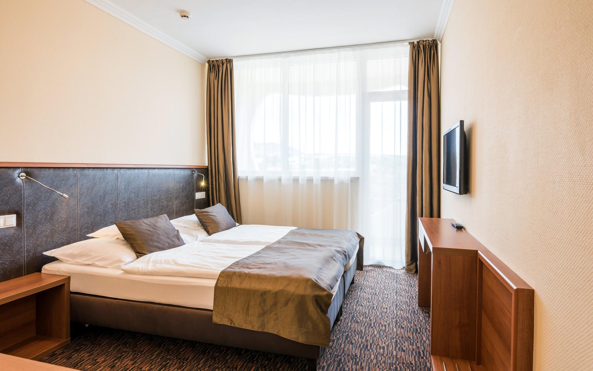 Izby hotela sú moderne vybavené