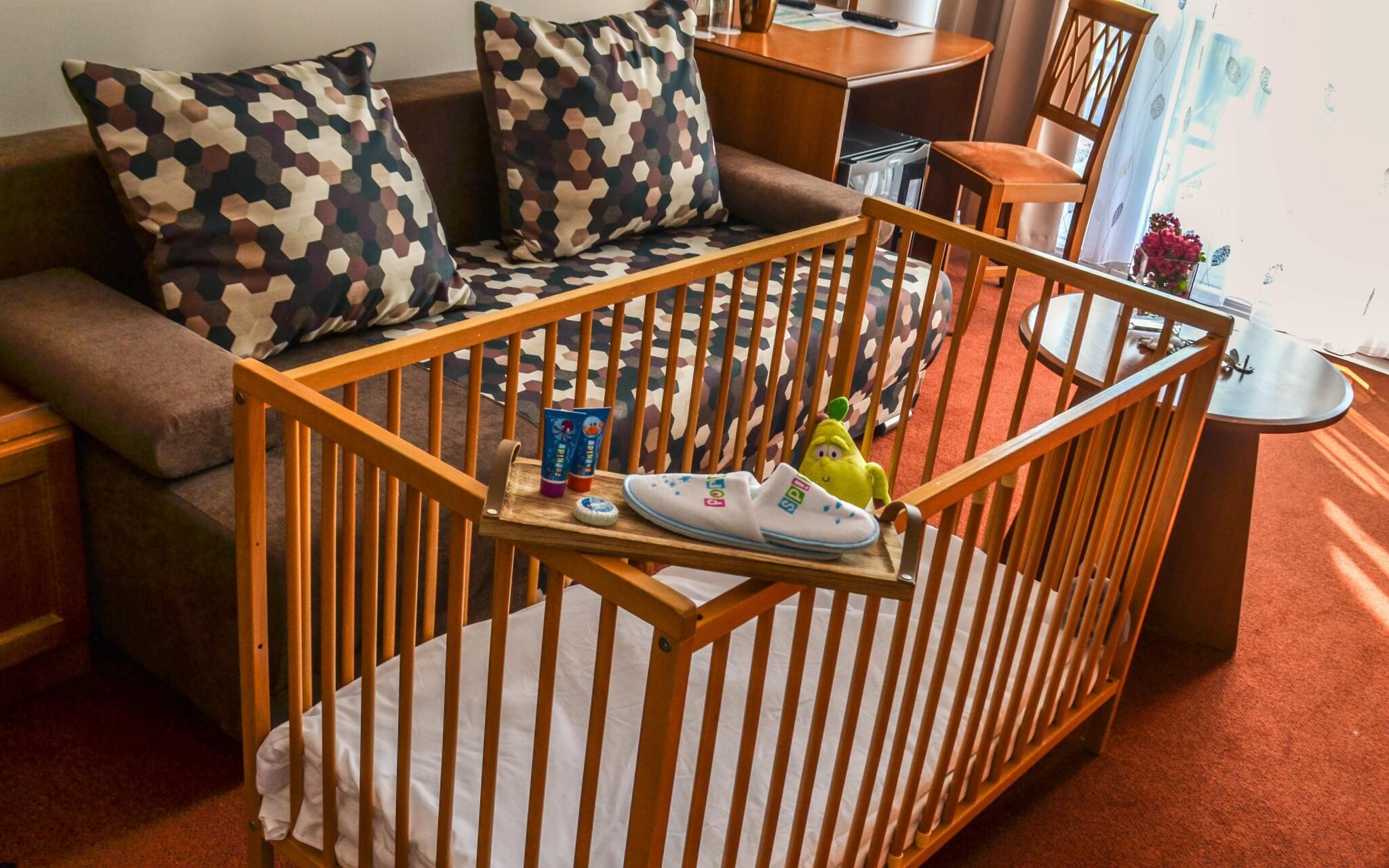 Pokoje jsou dobře zařízené i pro děti