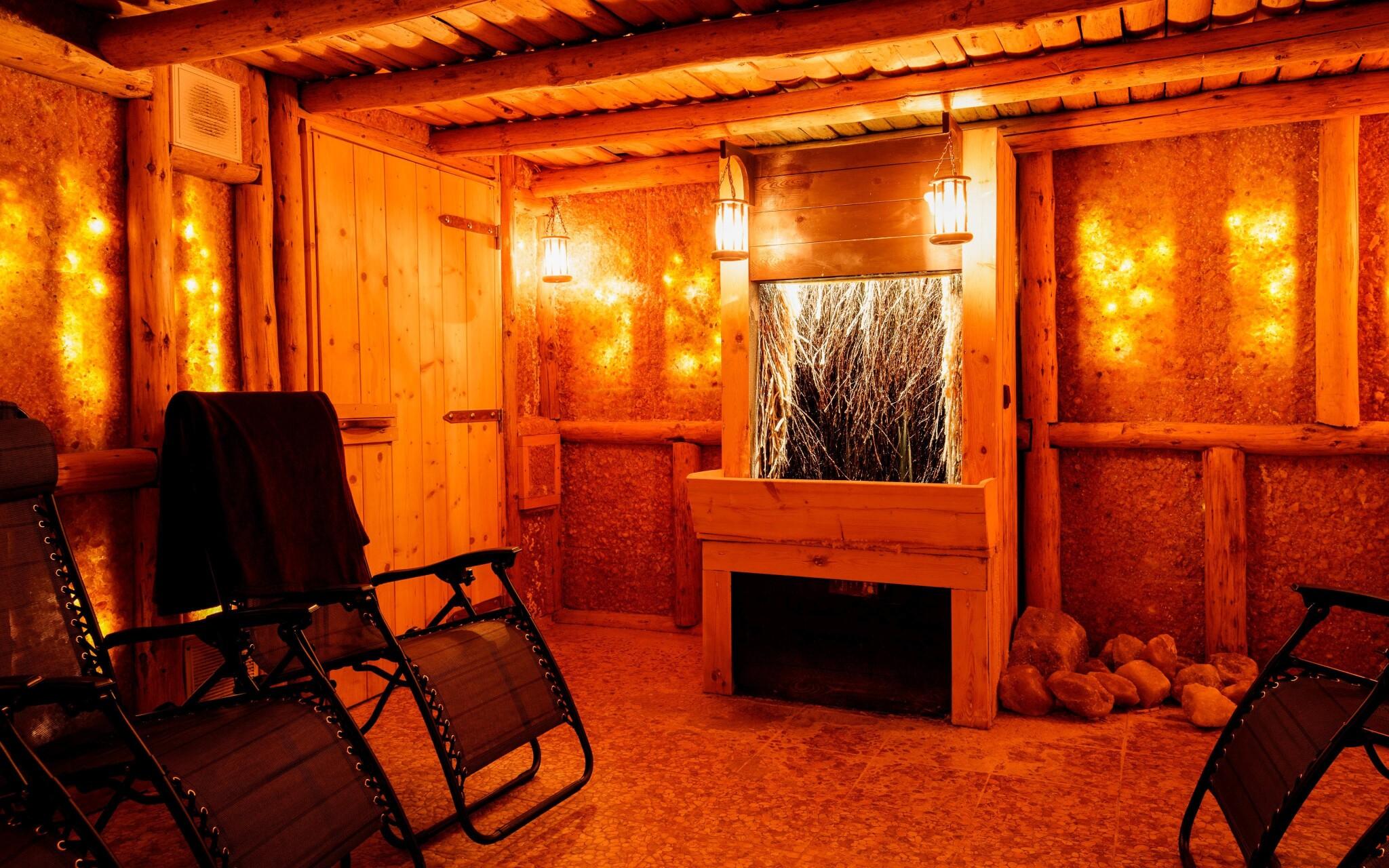 Zažijte uvolňující atmosféru solné jeskyně