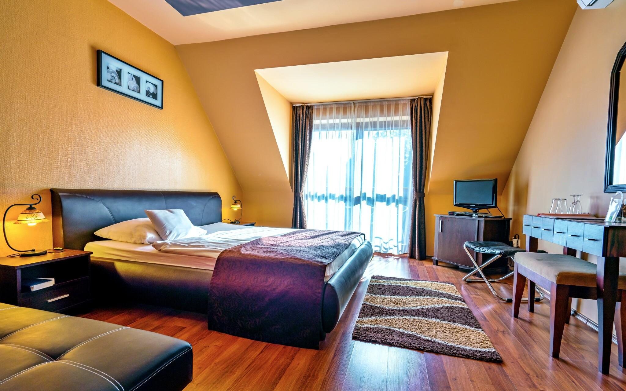 Dvojlôžková izba v penzióne Bajor Bük Maďarsko