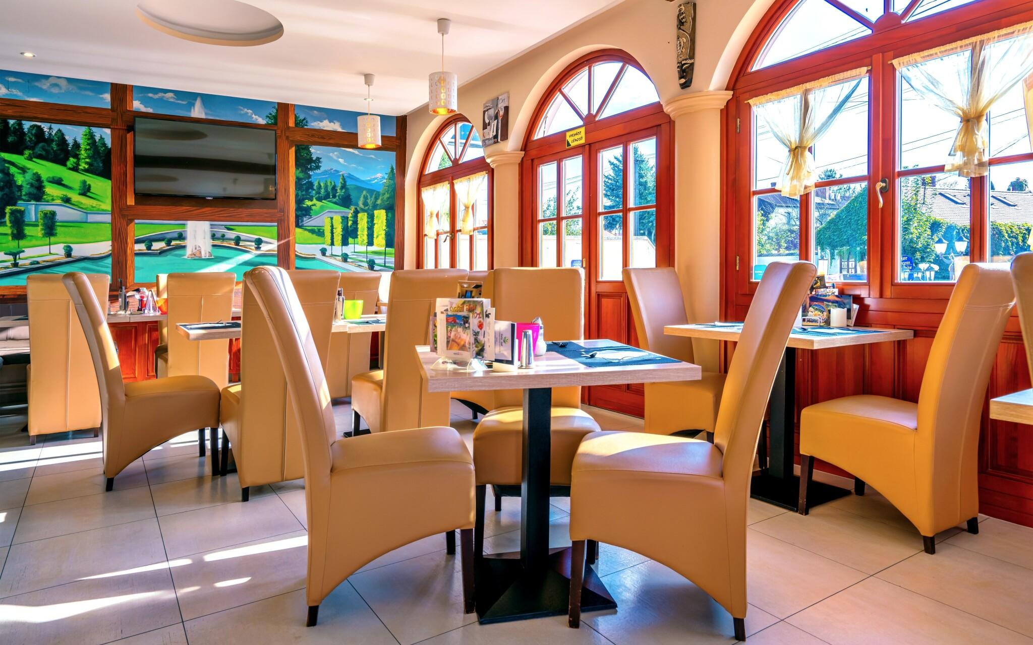 Reštaurácia, raňajky penzión Bajor Bük Maďarsko