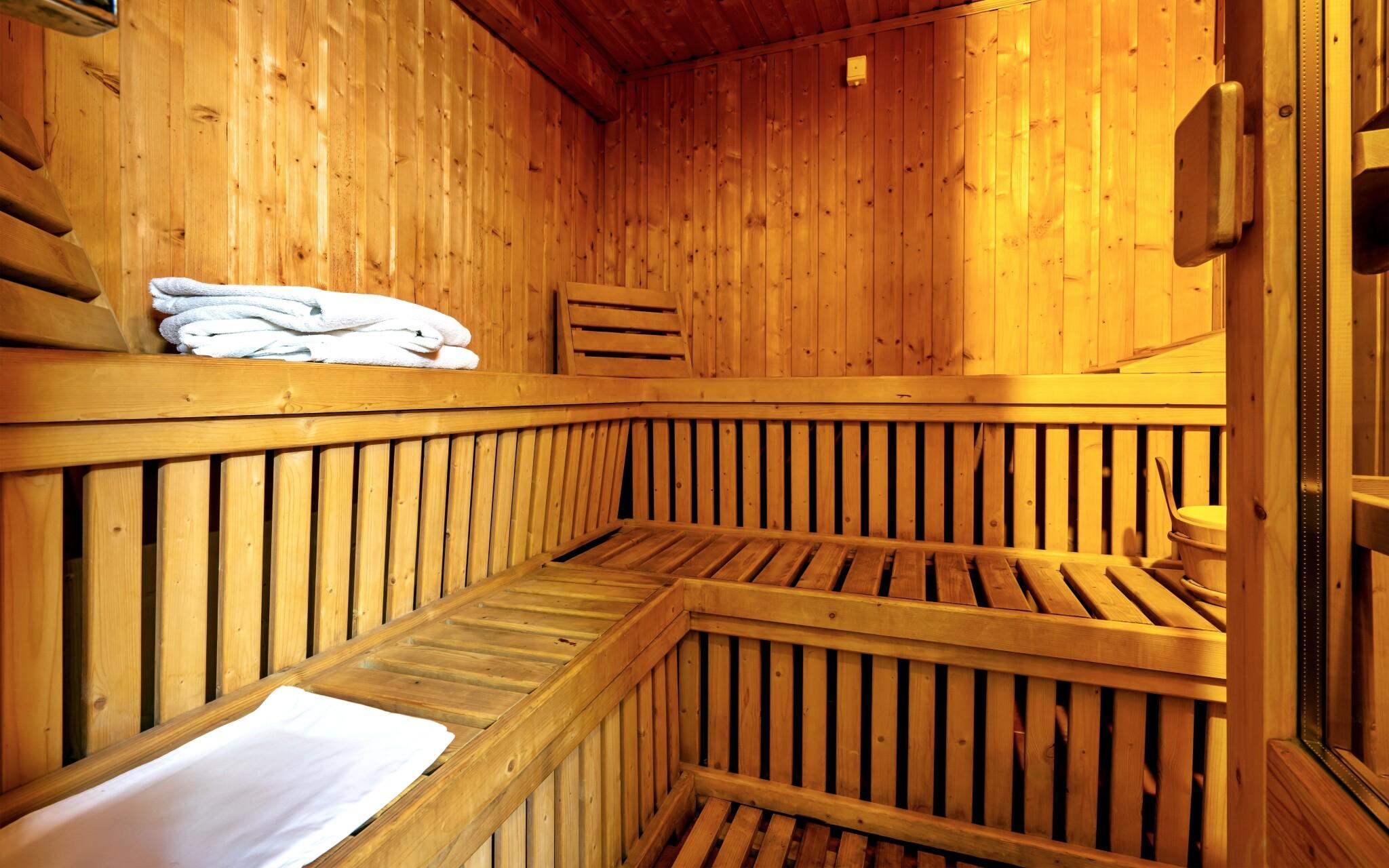 Sauna a ochlazovací bazén v Hotelu Amstel *** Maďarsko
