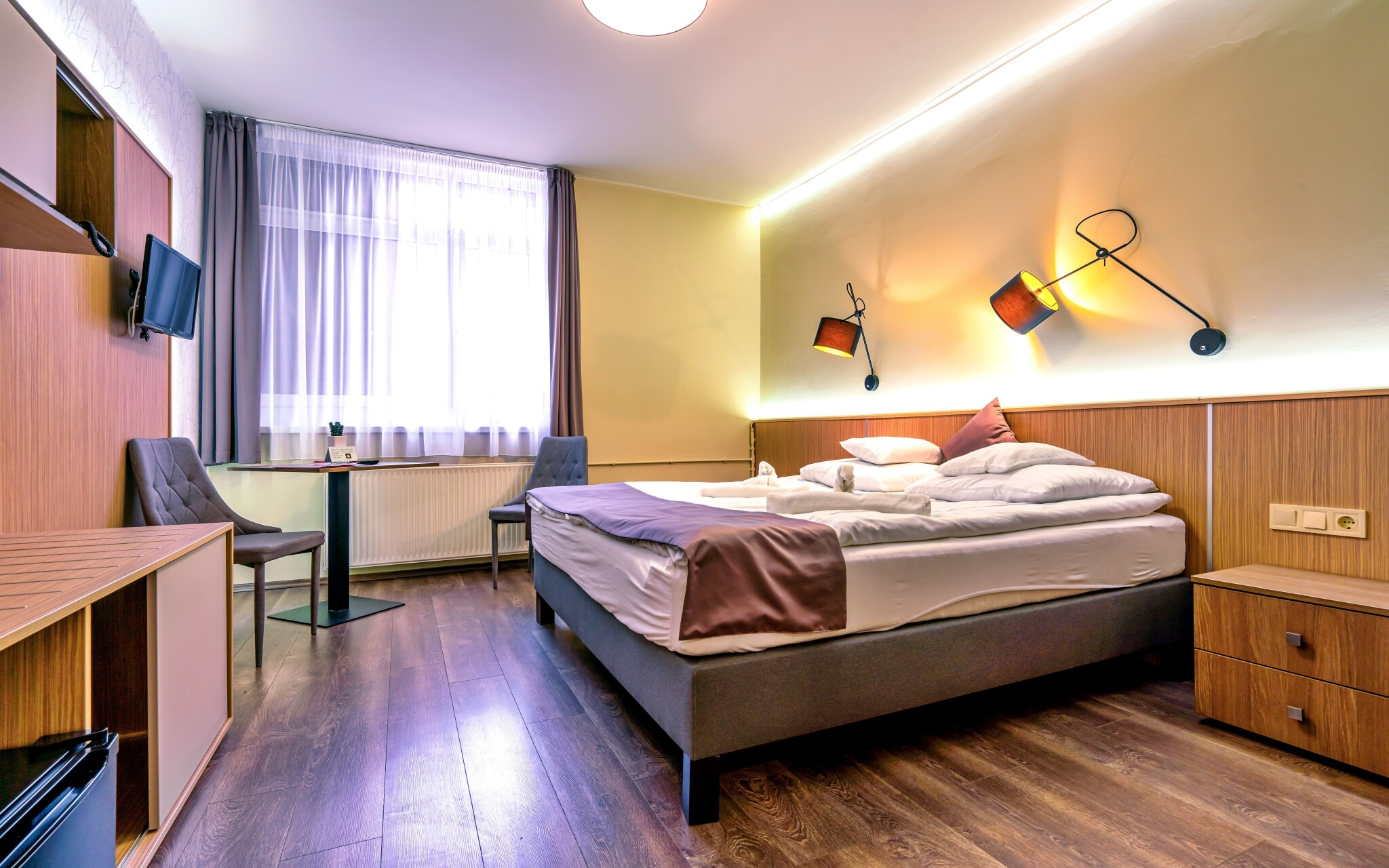 Komfortní pokoje v Hotelu Amstel *** Györ Maďarsko