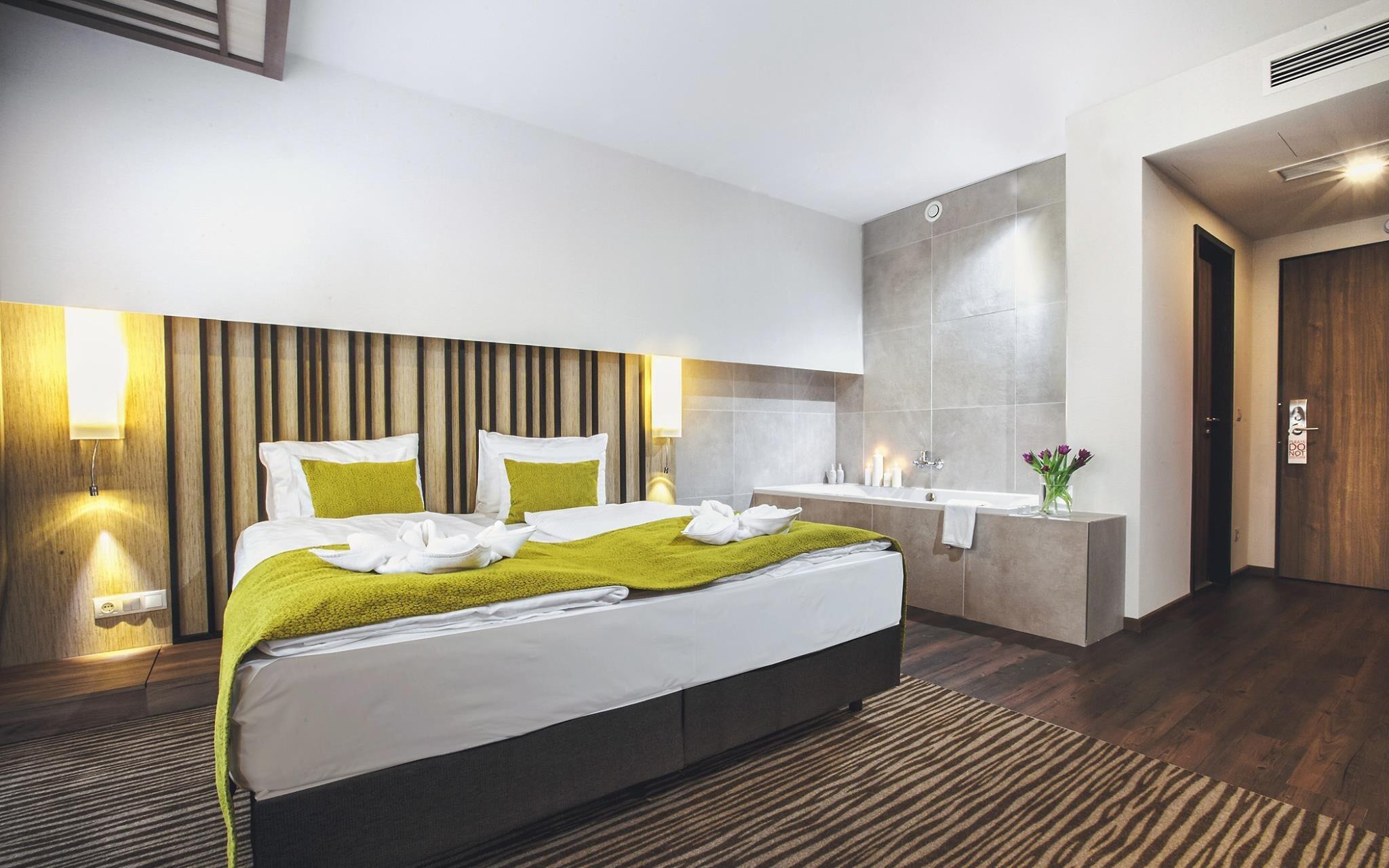 Štandardné izby sú krásne zariadené