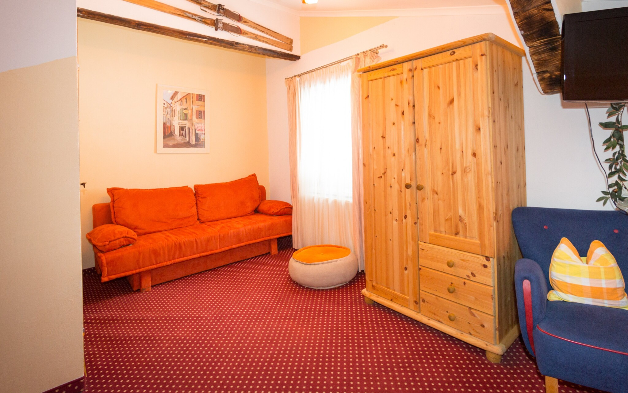 Pokoje jsou komfortní, Pension Bachseitenhof, Rakousko