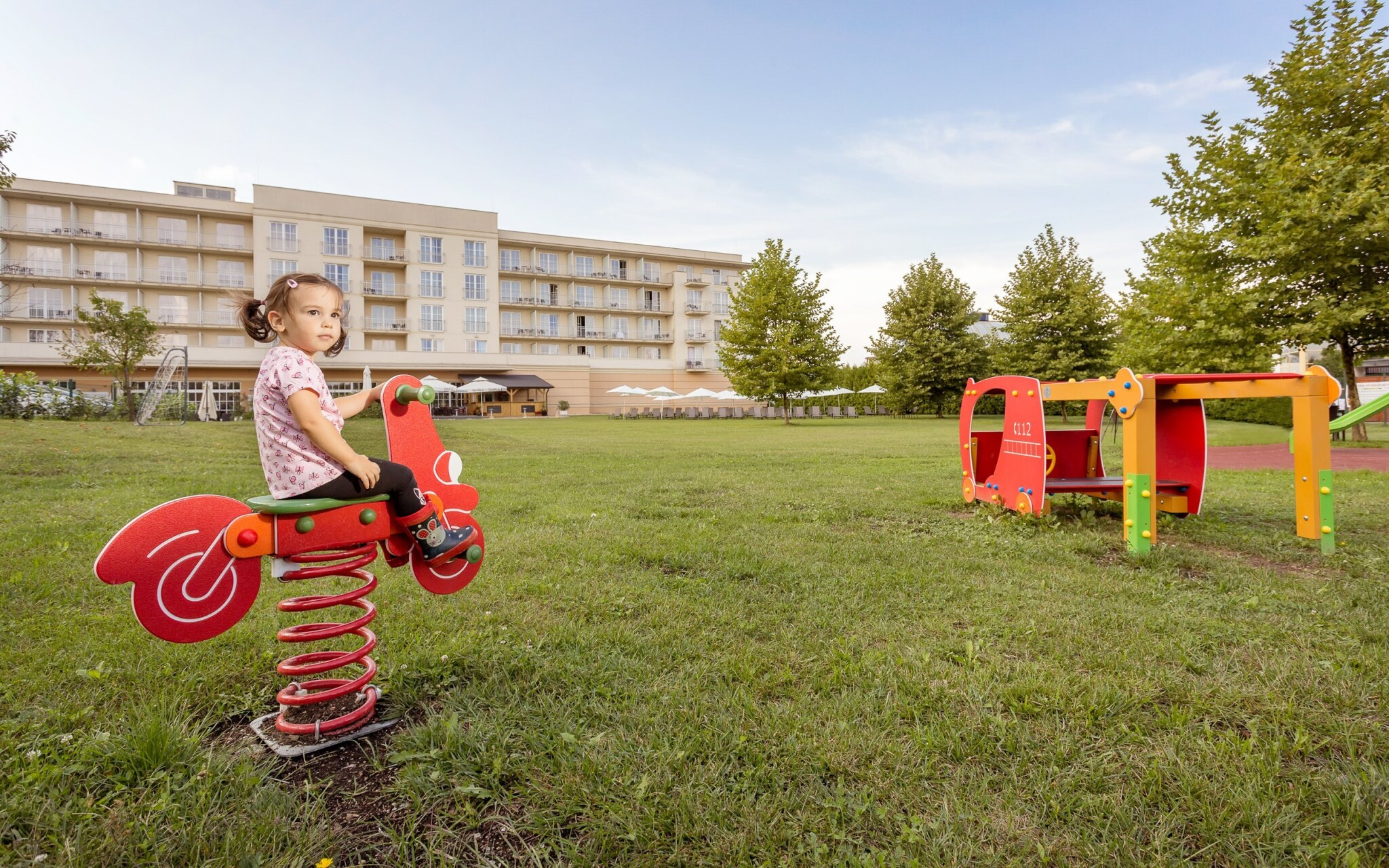 Detské ihrisko v Gotthard Therme & Conference, Maďarsko