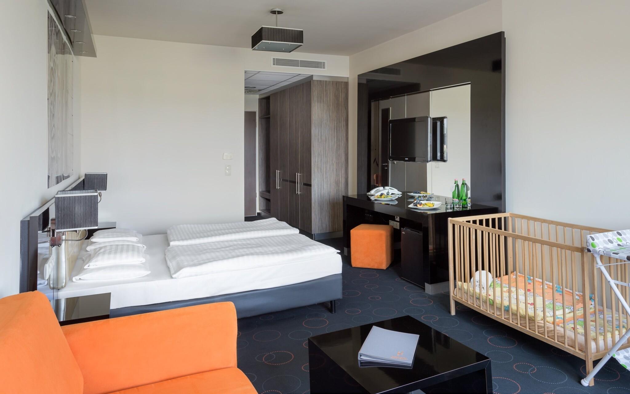 Izby sú naozaj priestranné, Gotthard Therme Hotel