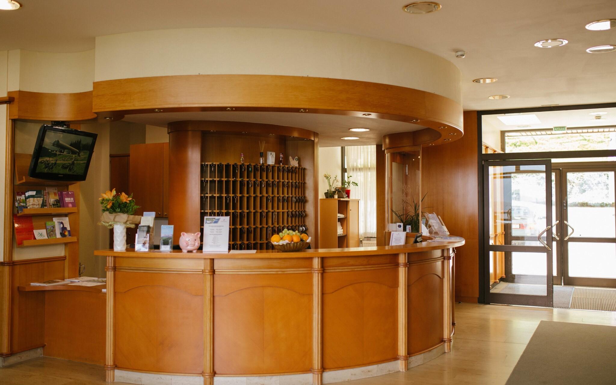 Recepcia hotela Sporthotel am Semmering ***, Rakúsko