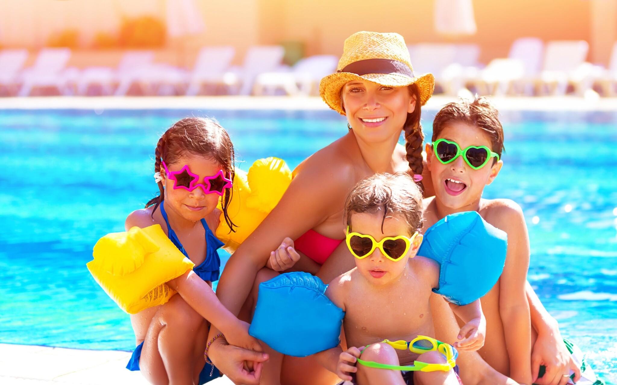 Aquapark Turčianske Teplice, bazén, tobogán, deti, rodina