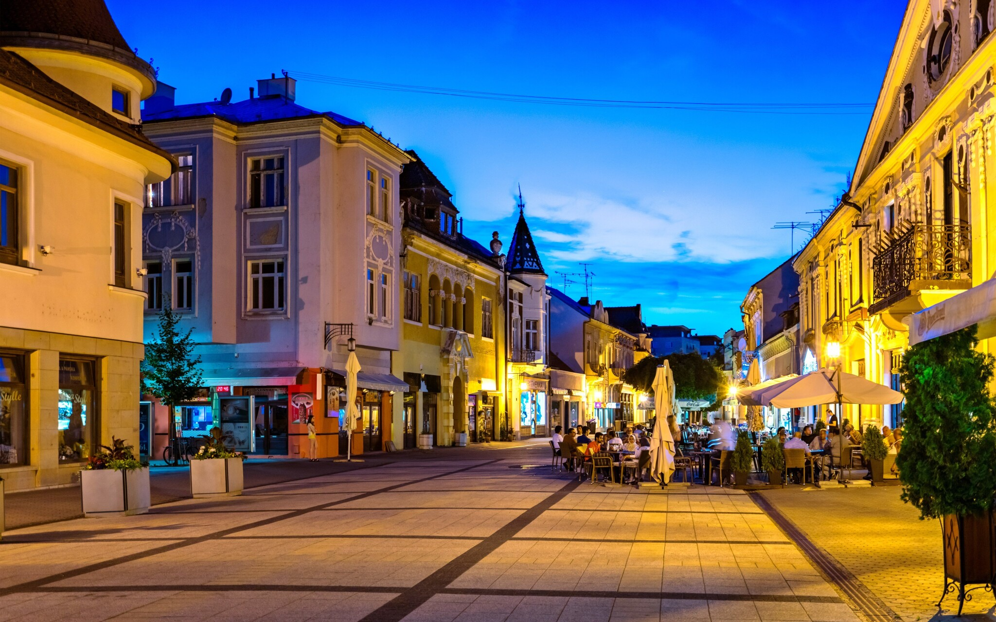 Centrum Piešťan, kúpeľné mesto, Slovensko