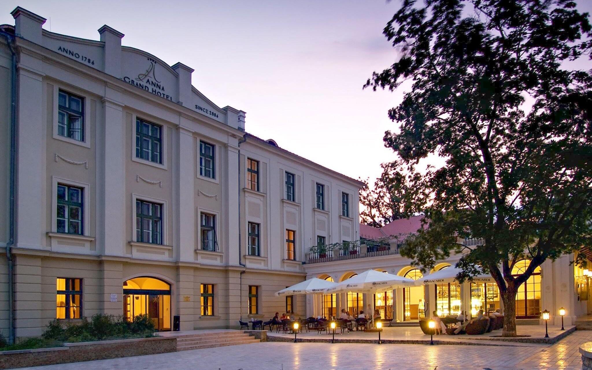Hotel Anna Grand **** na severnom brehu Balatonu v Maďarsku