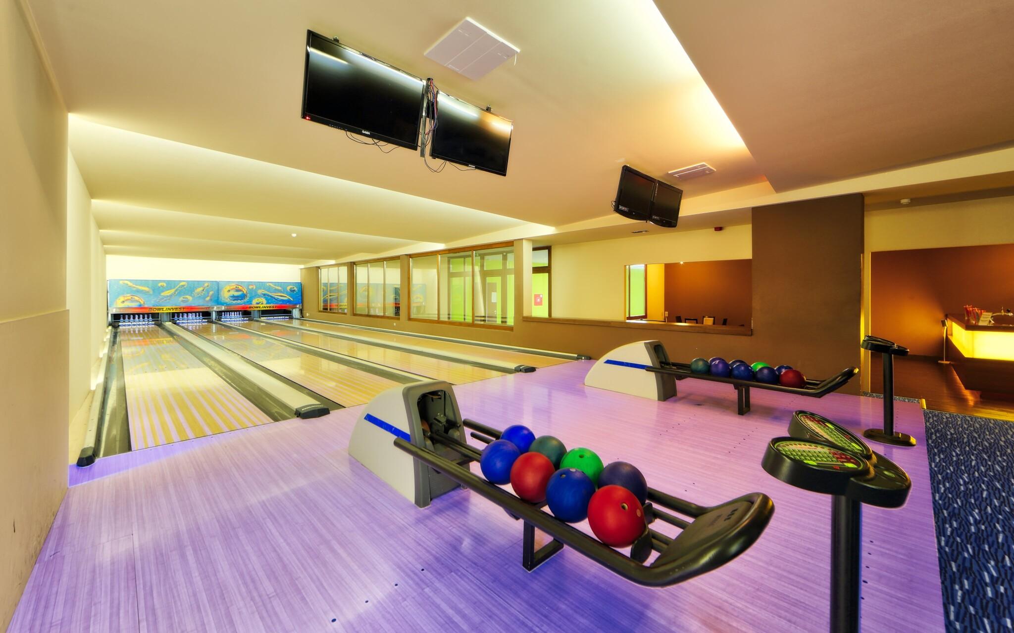 Bowlingová dráha v Anna Grand Hoteli **** v Maďarsku
