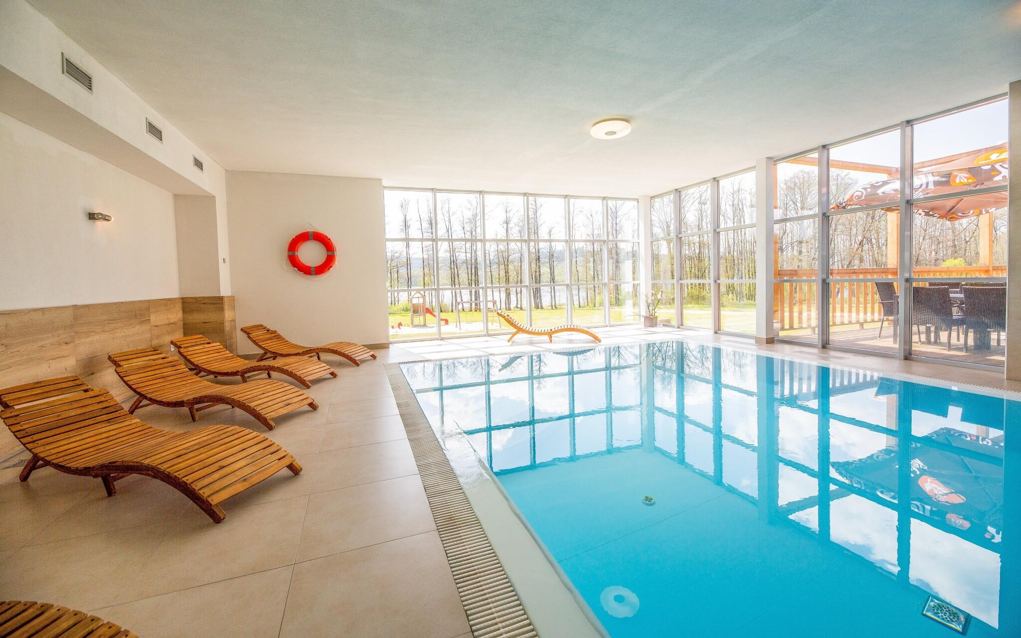 Vnitřní bazén v Hotelu Orsino **** Horní Planá, Lipno