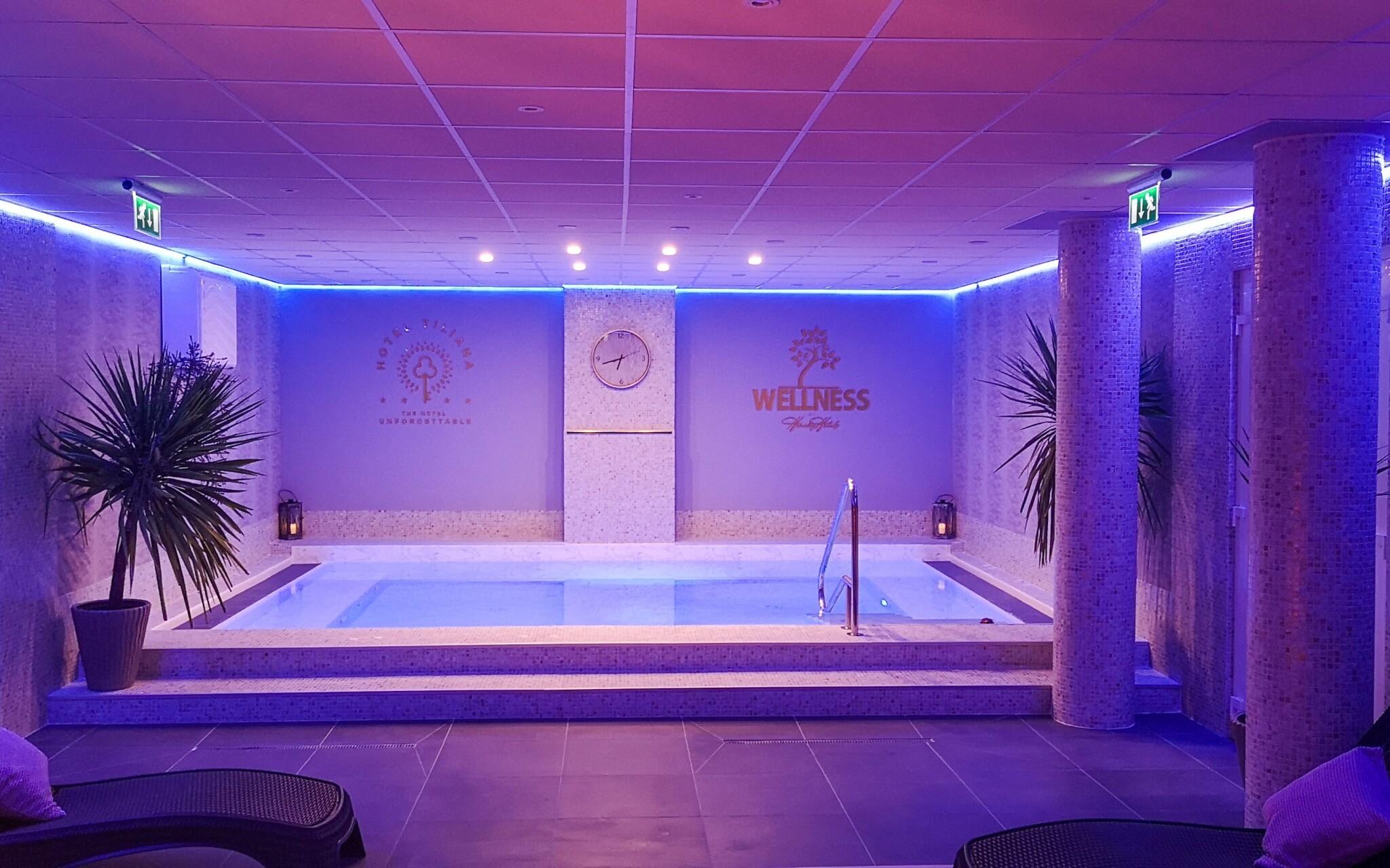 Užite si nové wellness centrum s bazénom a saunou