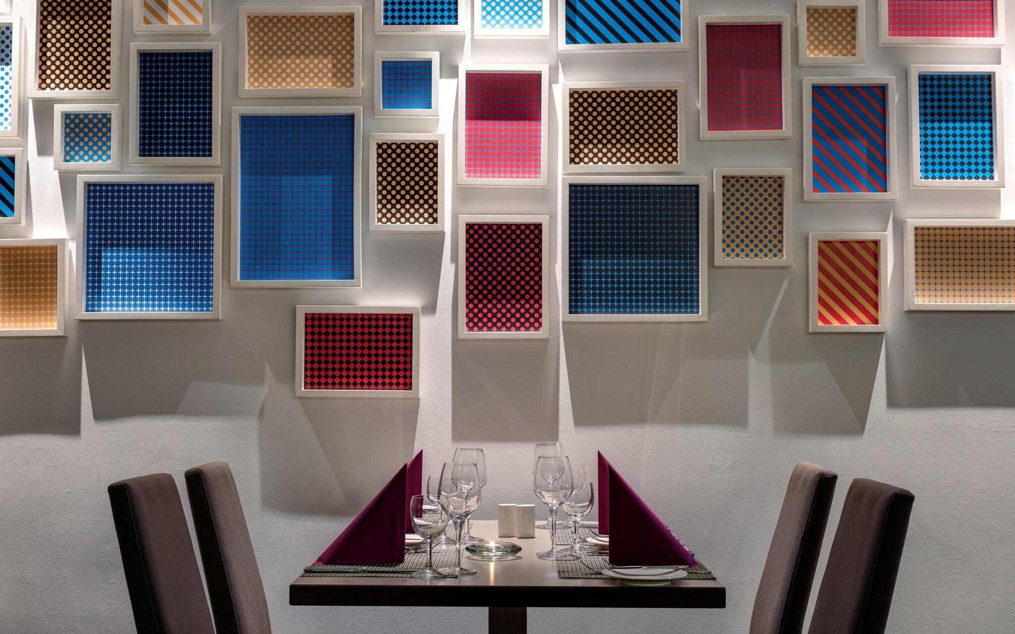 Restaurace je moderně vybavena, Park Inn Sárvár