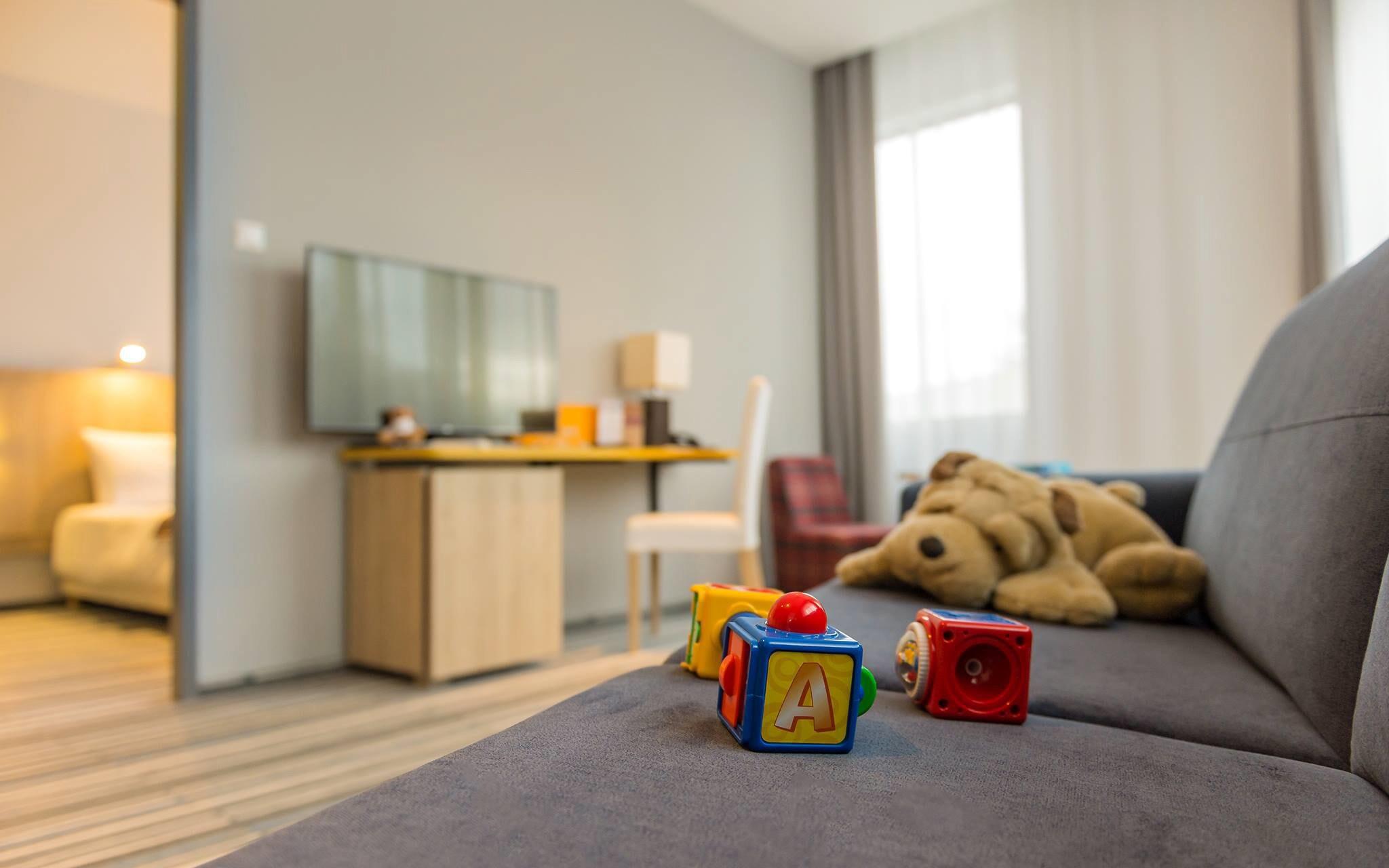 Pokoje jsou komfortně vybavené, Hotel Park Inn Sárvár