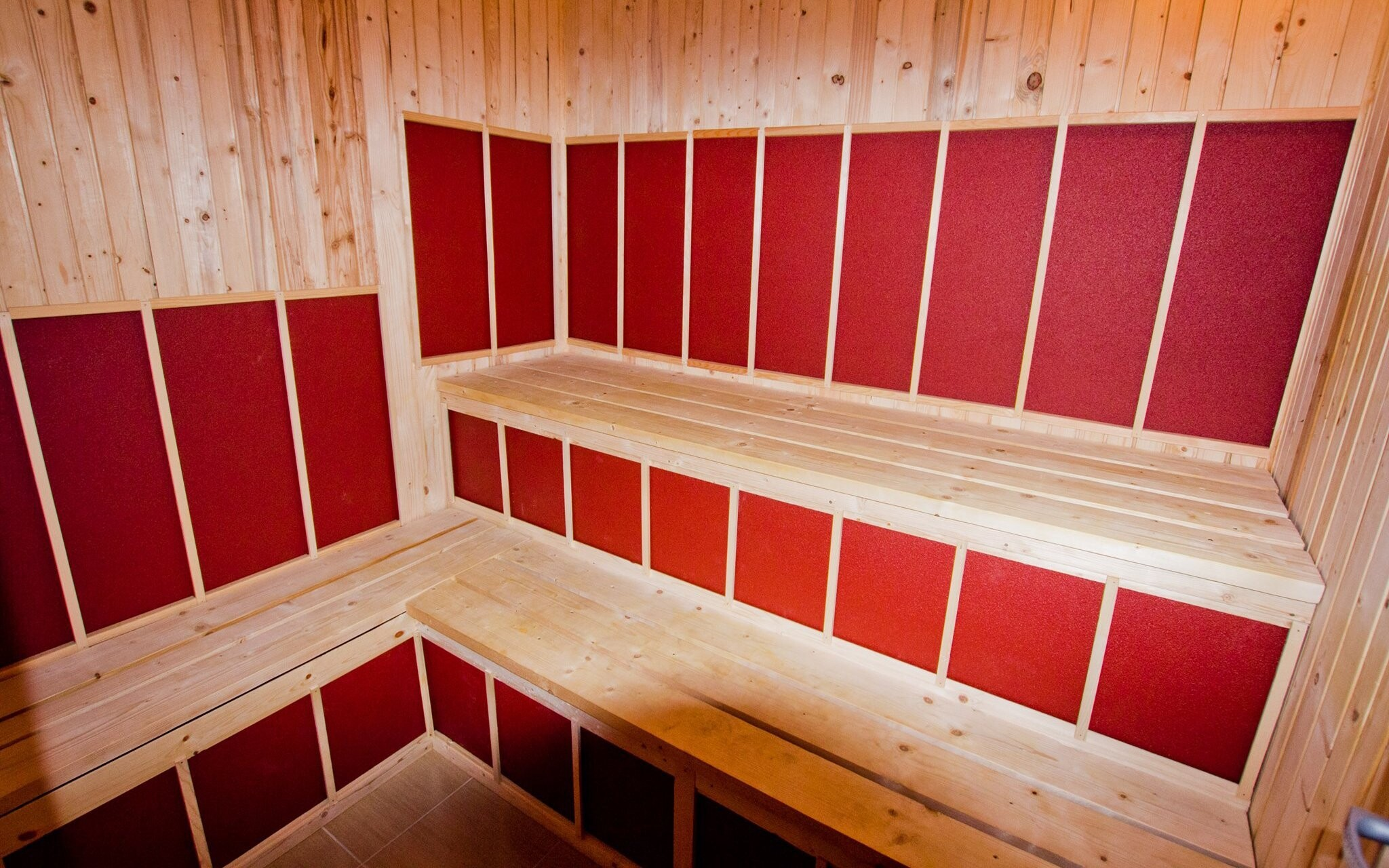 K dispozici budete mít infra saunu